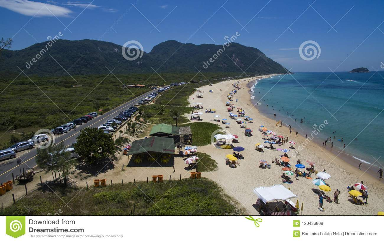Paradise beach, beautiful beach, wonderful beaches around the world, Grumari beach, Rio de Janeiro, Brazil, South America Brazil