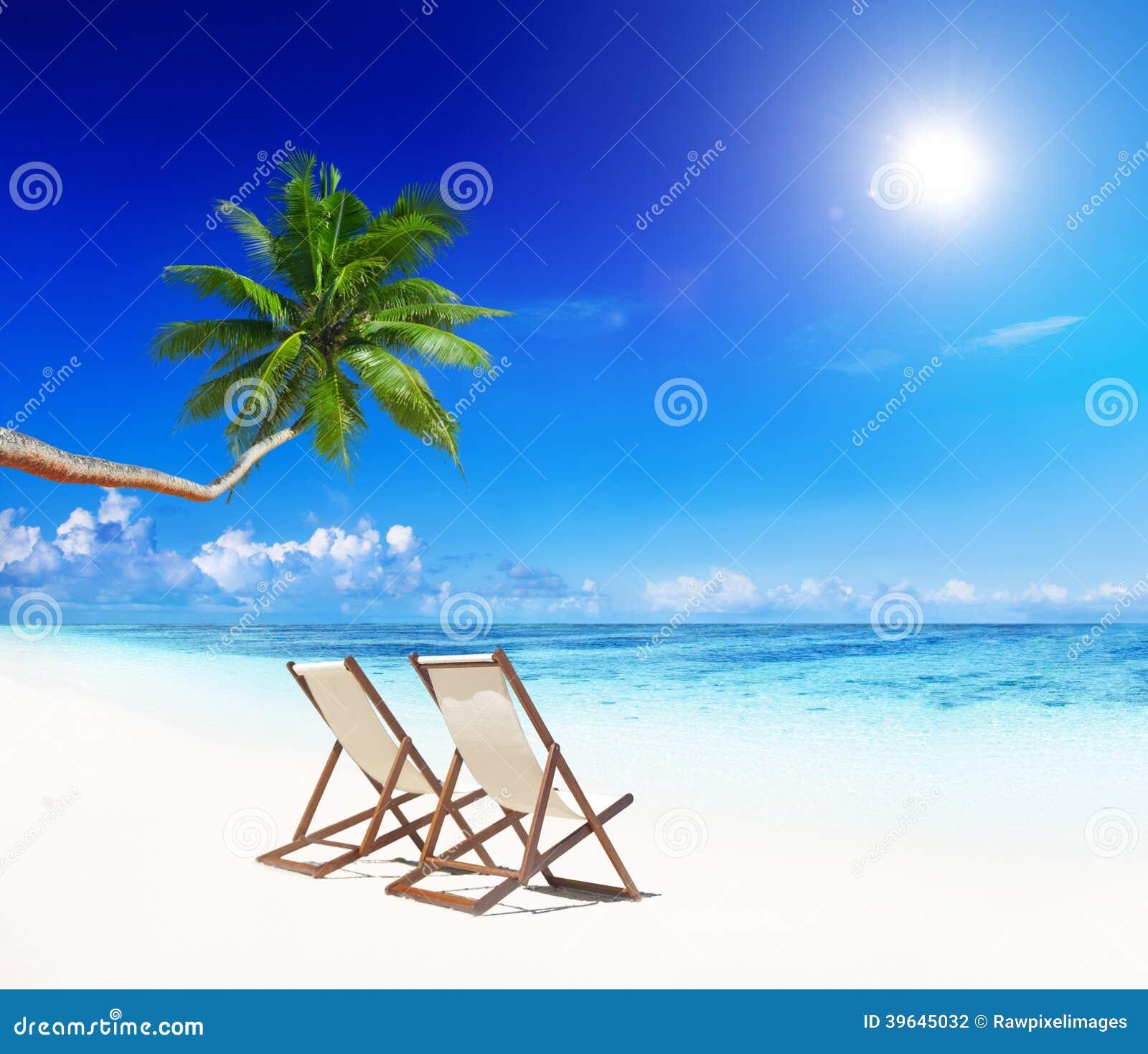 Paradise Beach: Paradise Beach Relaxation Stock Photos