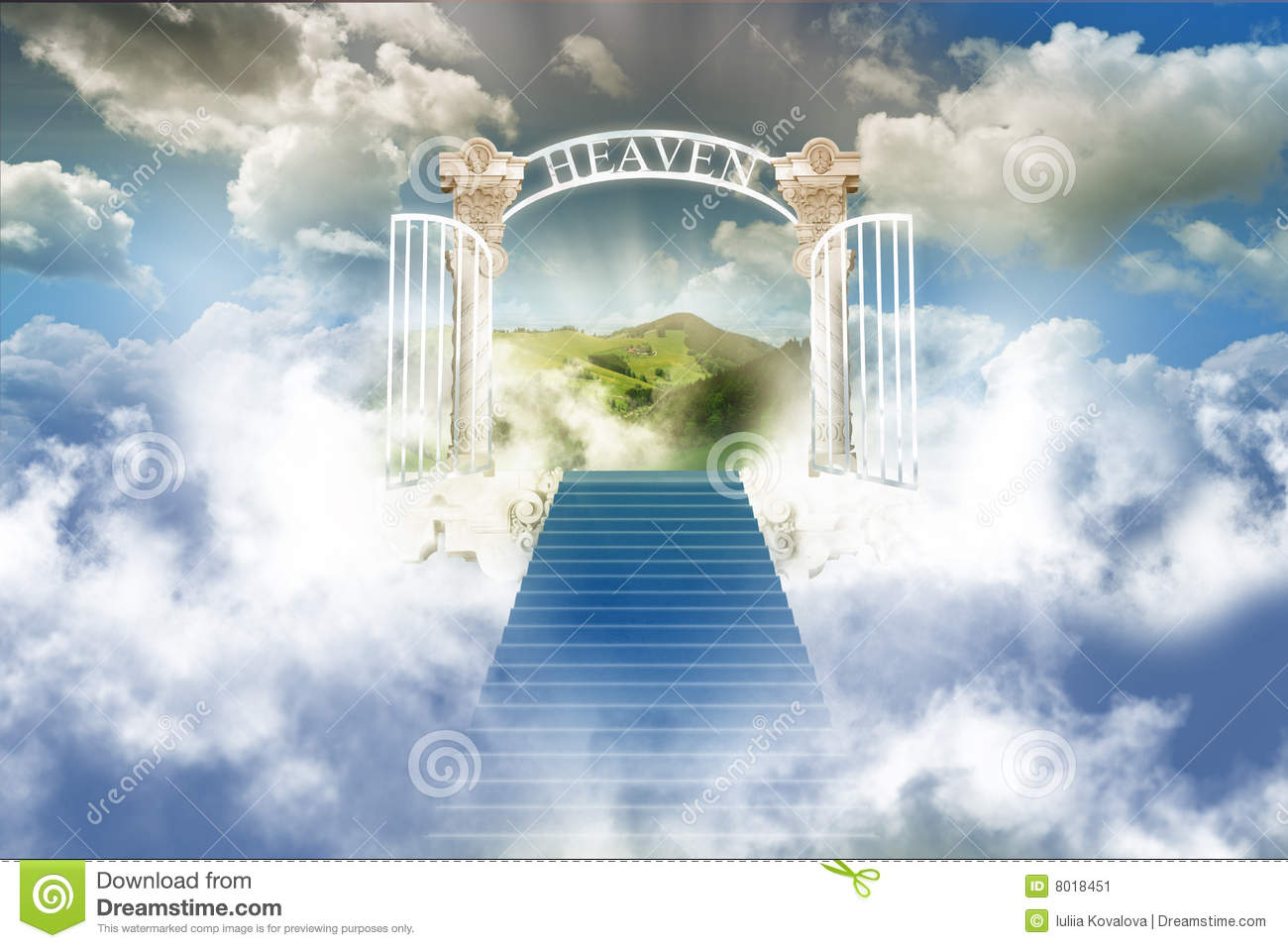 Paradise In Sky... Gates Of Heaven Design