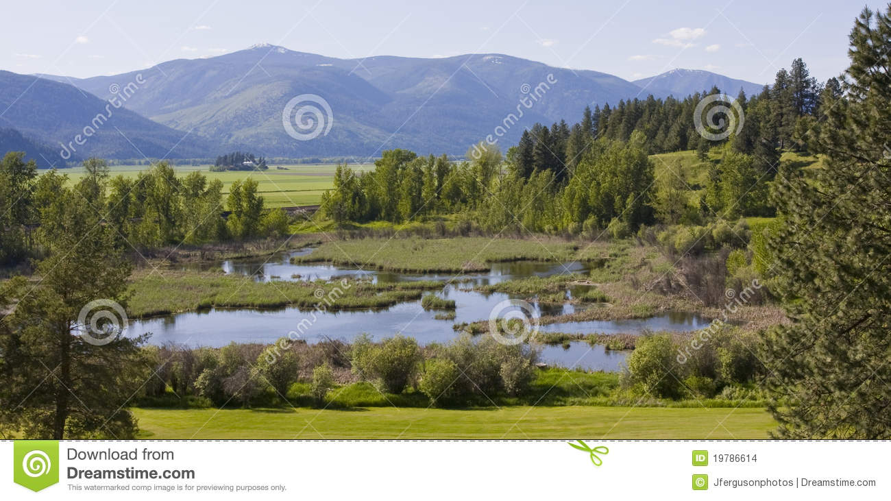 Bonners Ferry (ID) United States  city photos : This shot is taken overlooking Paradise Valley near Bonners Ferry ...
