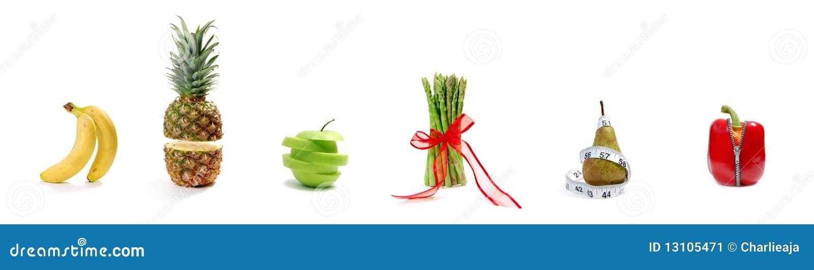 Parady owocowy warzywo