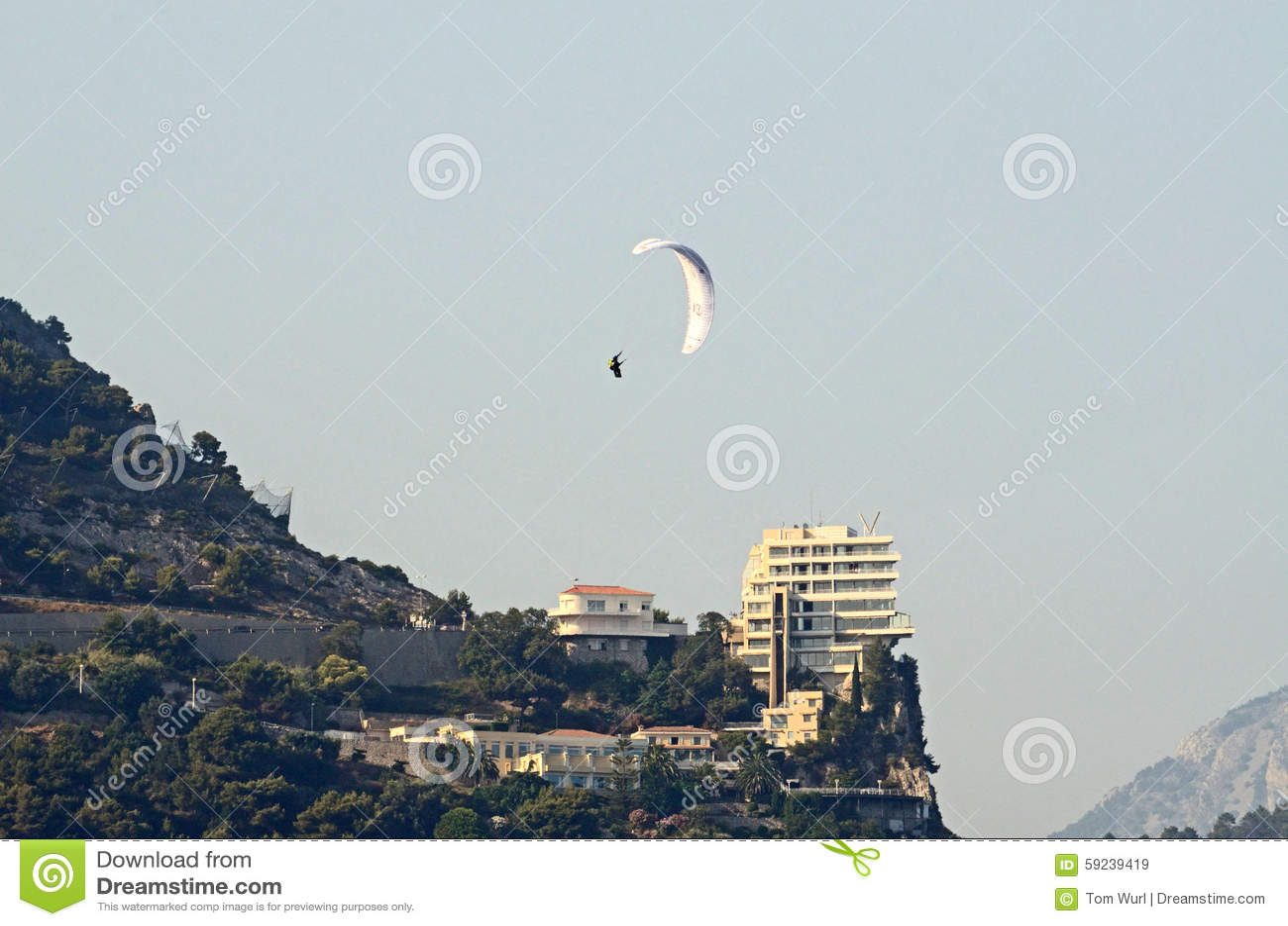 Download Paragliding, Mónaco, Tom Wurl Imagen de archivo editorial - Imagen de rico, mónaco: 59239419