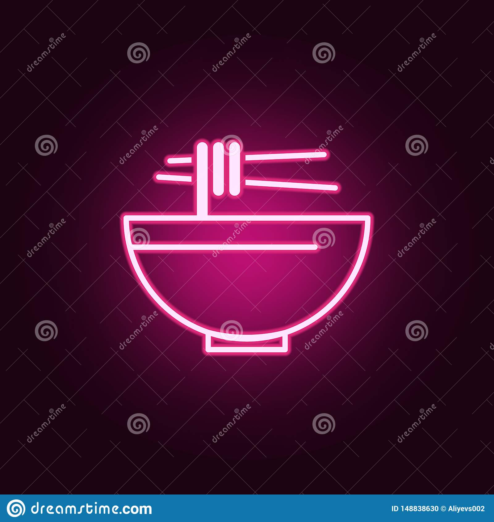 paragraph sign neon icon. Elements of web set. Simple icon for websites, web design, mobile app, info graphics