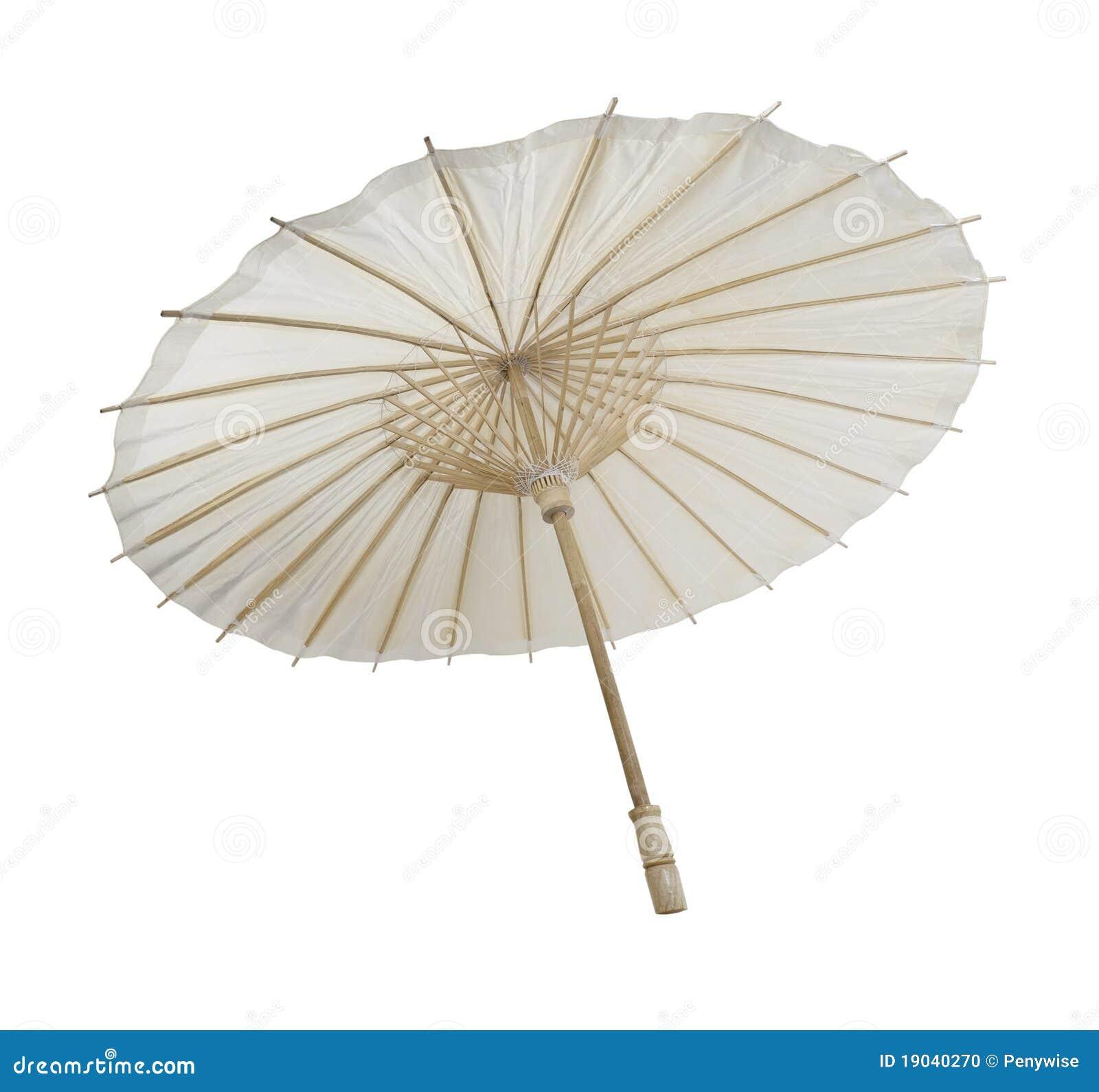 50% rebajado diseño exquisito Reino Unido Paraguas de bambú de papel foto de archivo. Imagen de ...