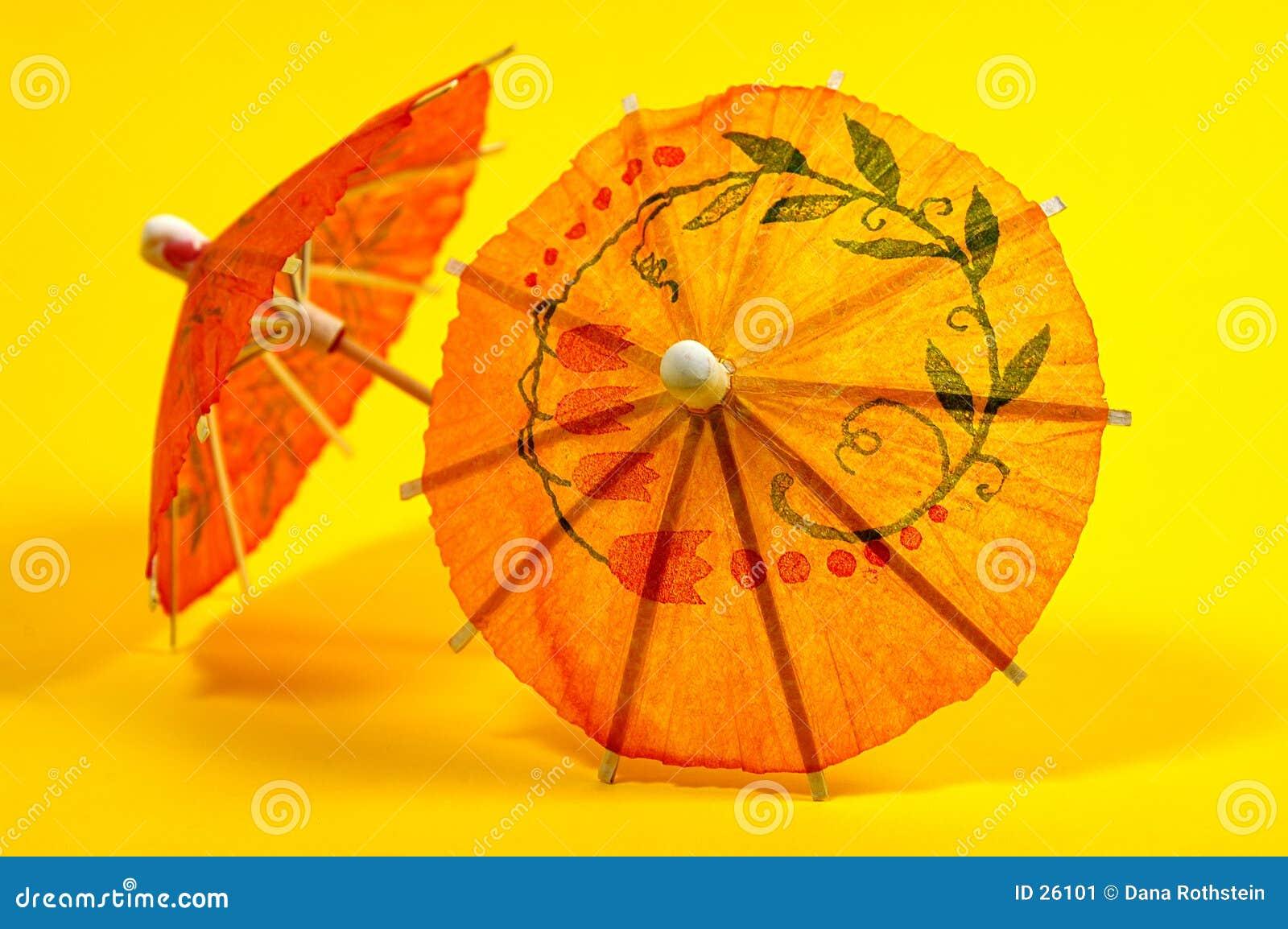 Paraguas de la bebida