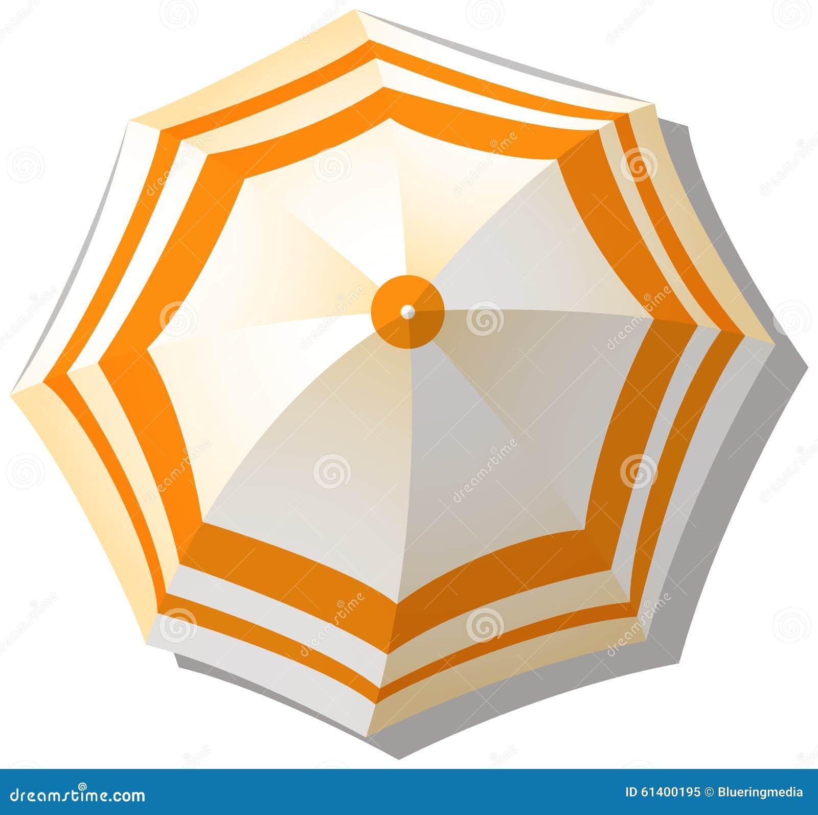Paraguas de la visión superior