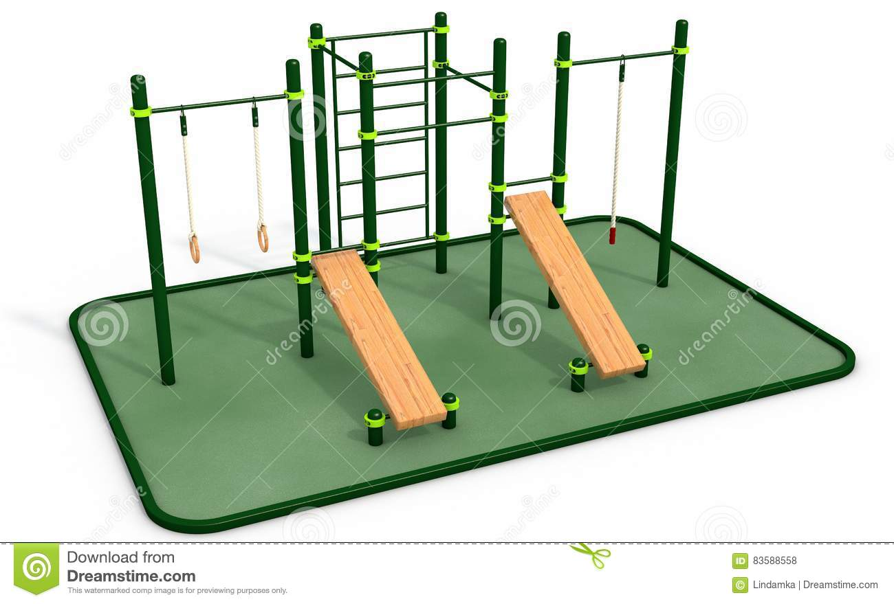 The equipment of a sports ground in the Dow, at school, on the street: GOST. Who is involved in the equipment of sports grounds