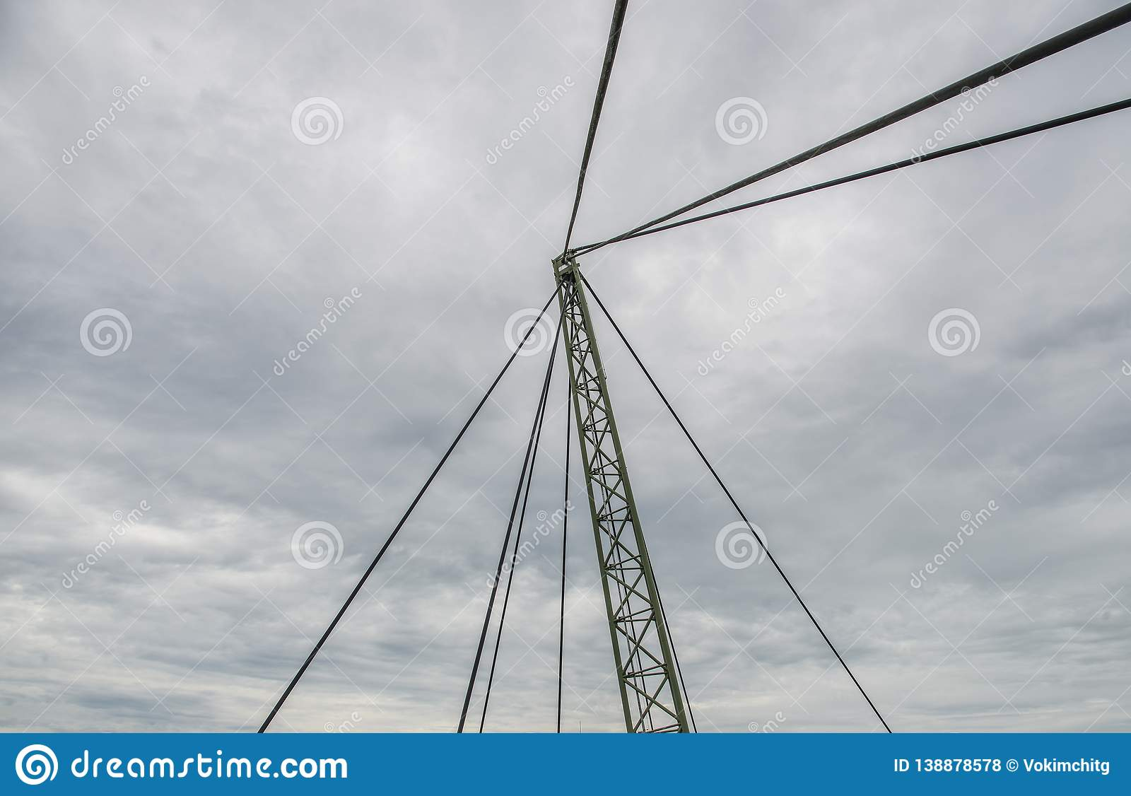 Parallel guyes of a cable-stayed bridge