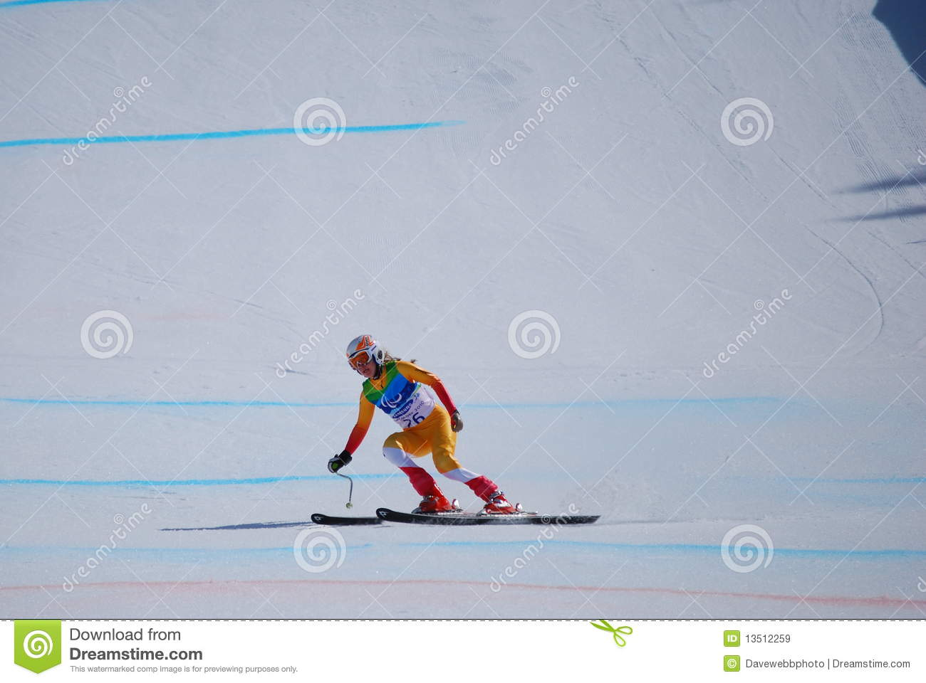 Paralympic Downhill Skiing