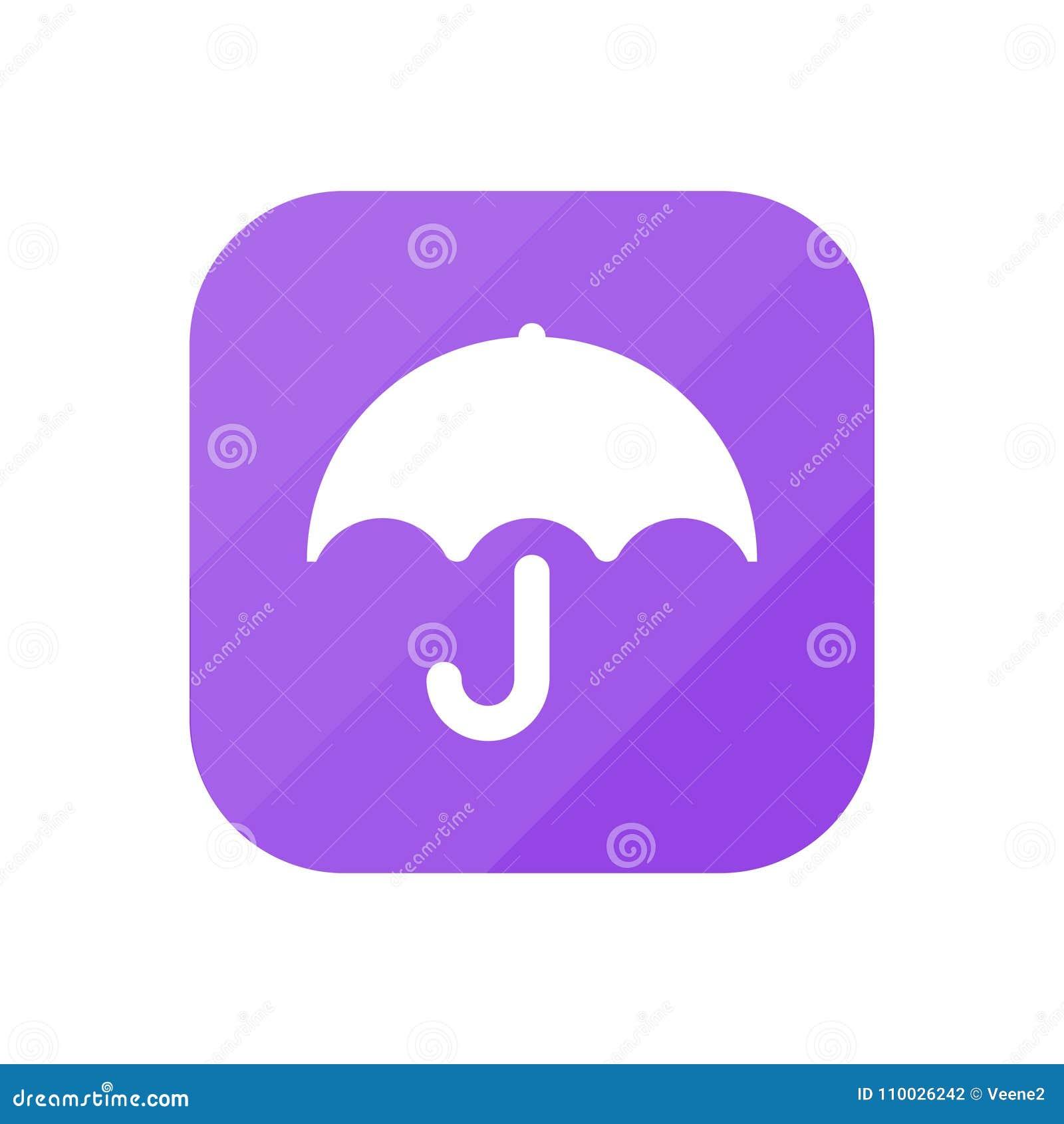 Paraplu - App Pictogram