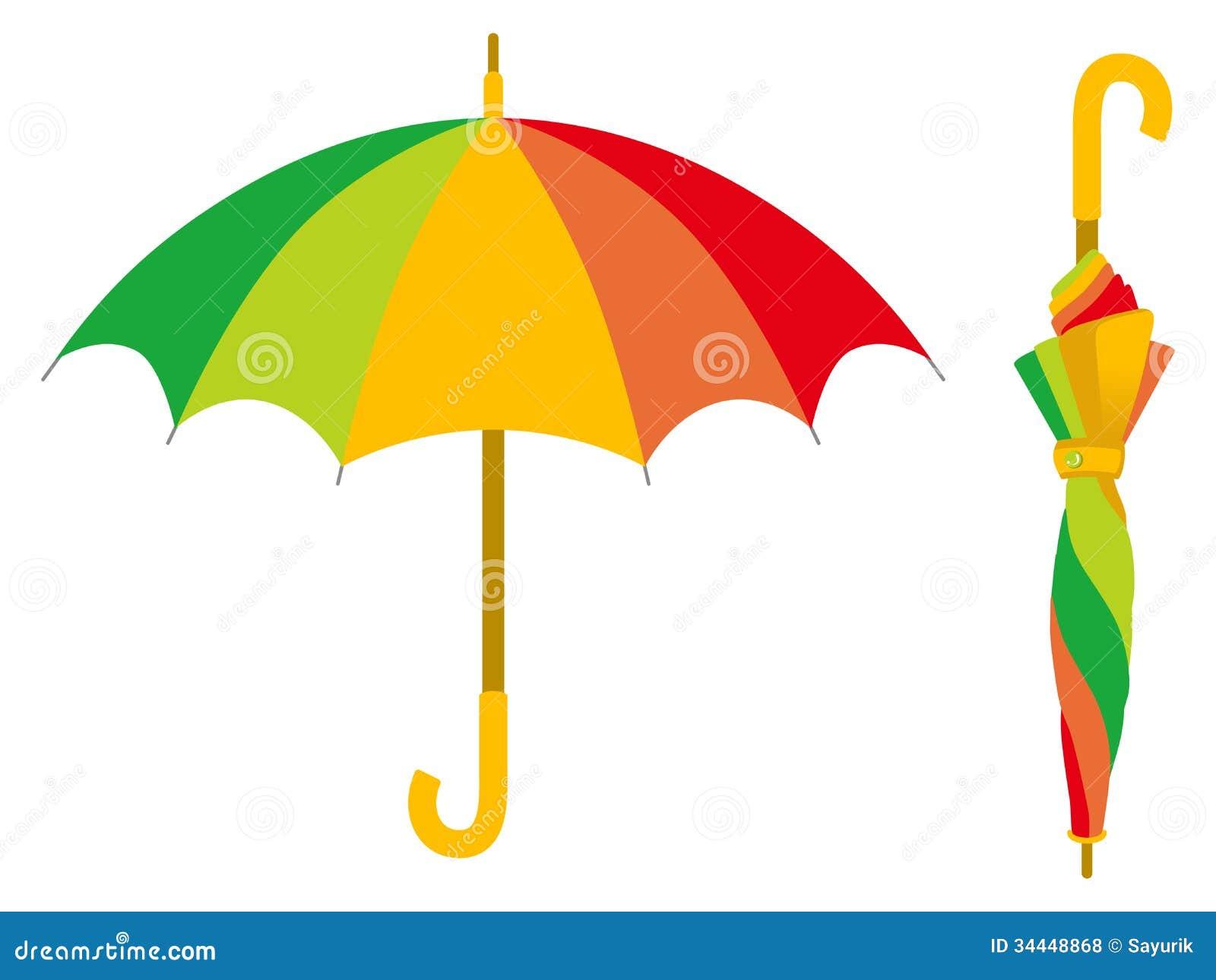 parapluie color ouvert et ferm - Parapluie Color