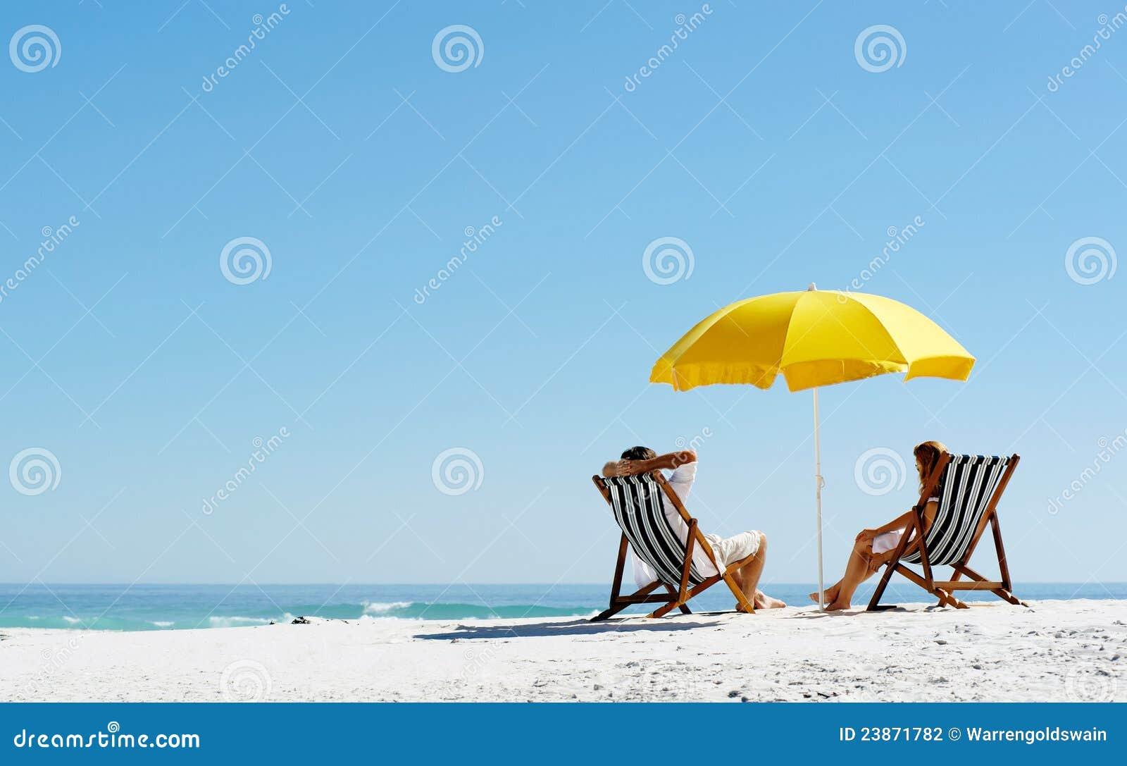 Parapluie d été de plage