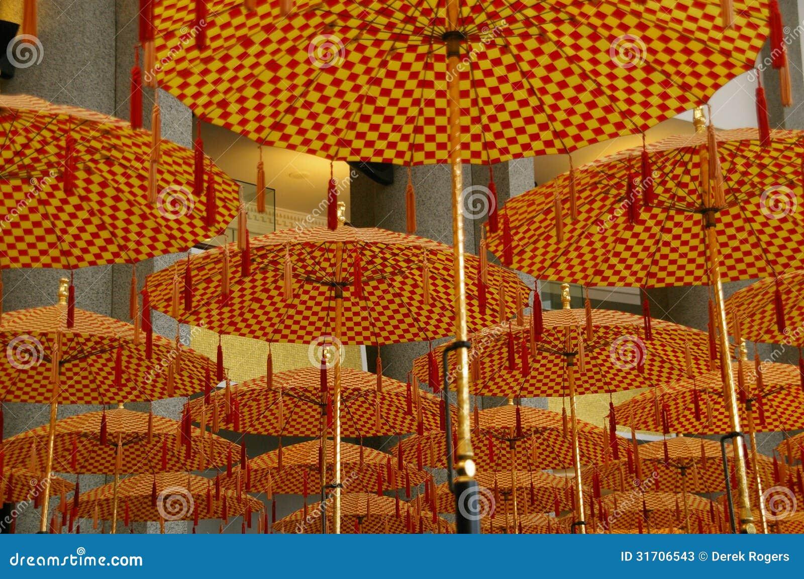 Parapluies Brunei de défilé
