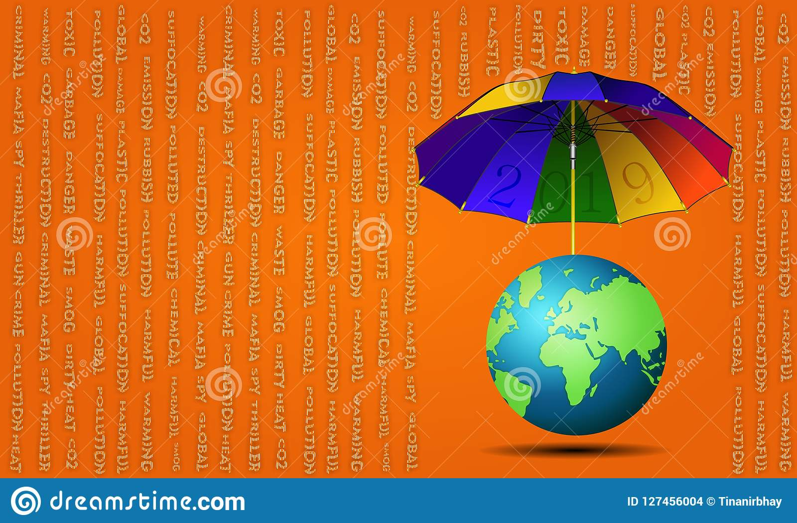 `-`-paraply 2019 för jorden