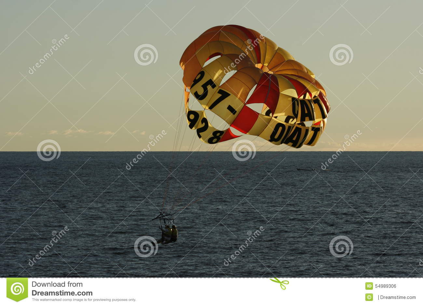 Parasailing i Jamaica