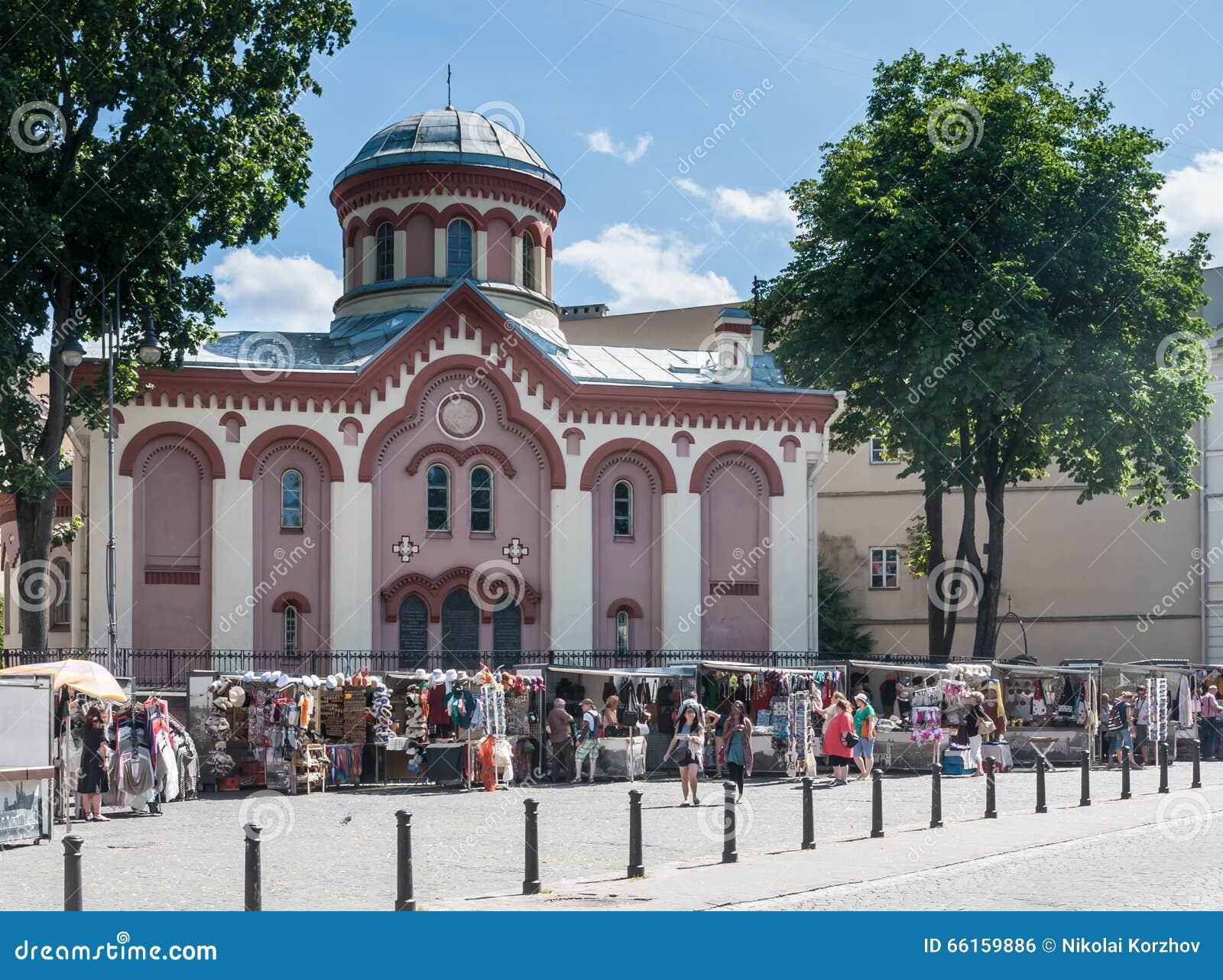 Paraskeva Church Rue de Didzioji, Vilnius,