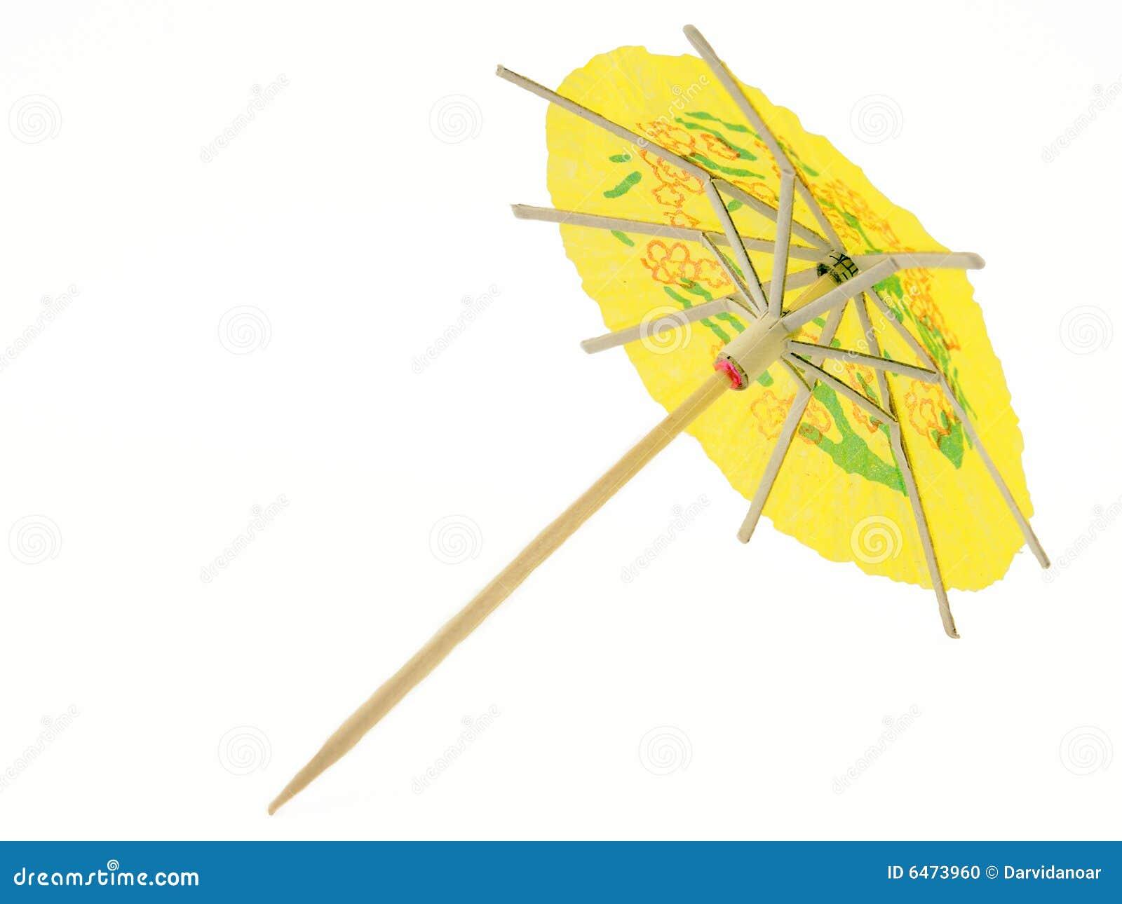 Parasol koktajlowym.