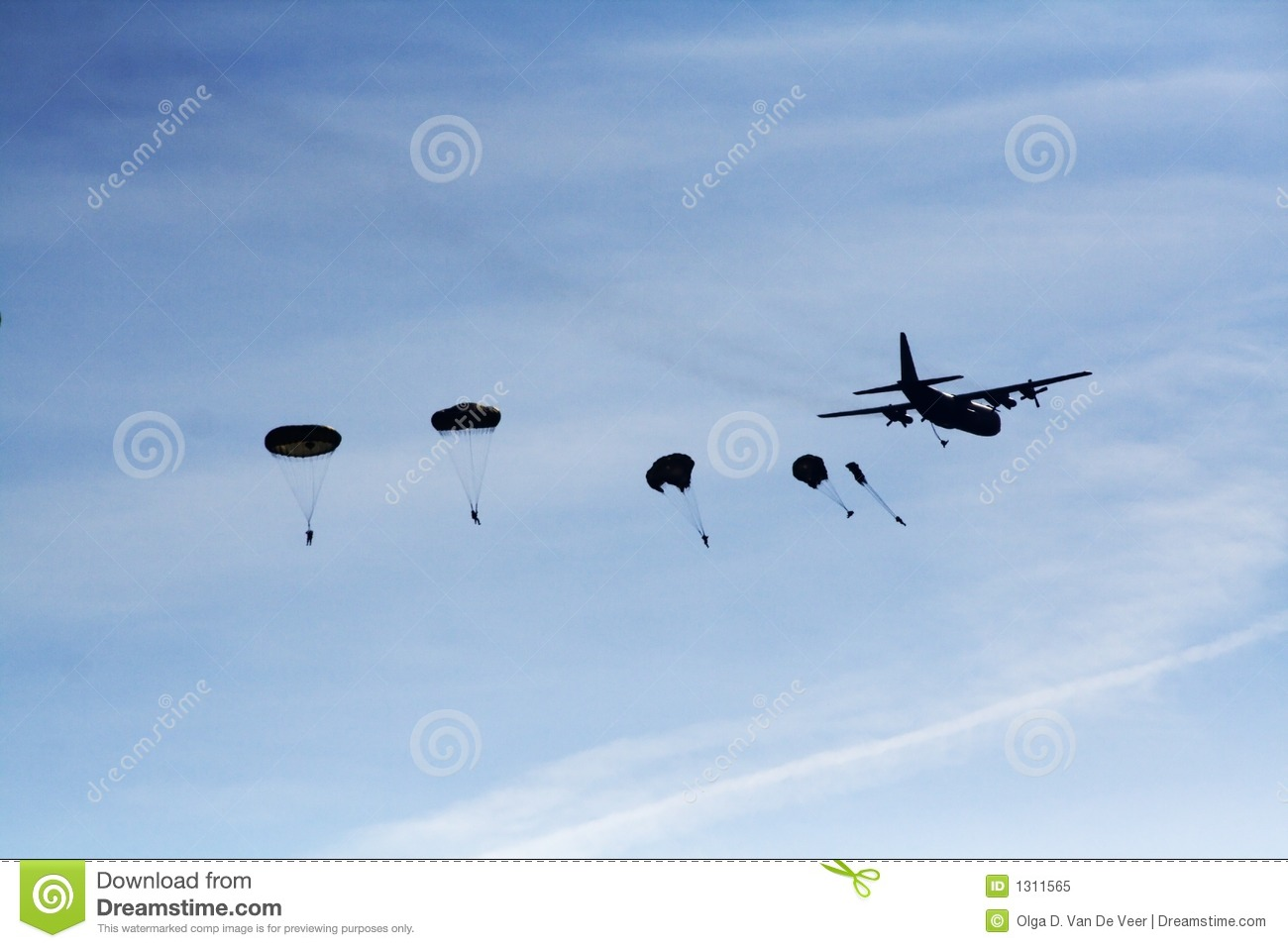 paratroopers stock image image of hercules  airplane parachute clipart png parachute clip art for commercial use