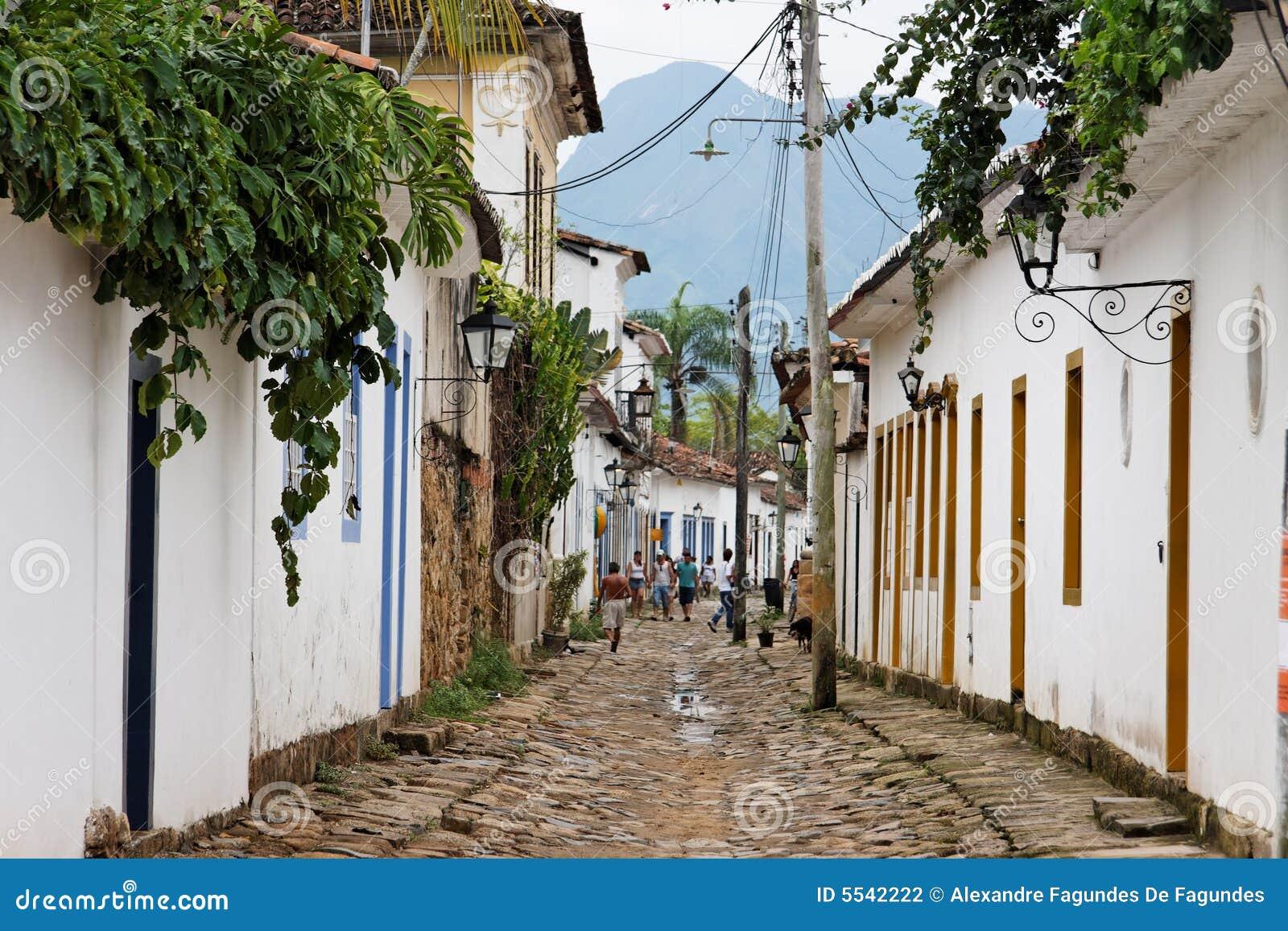 Paraty Historical Buildings Rio de Janeiro