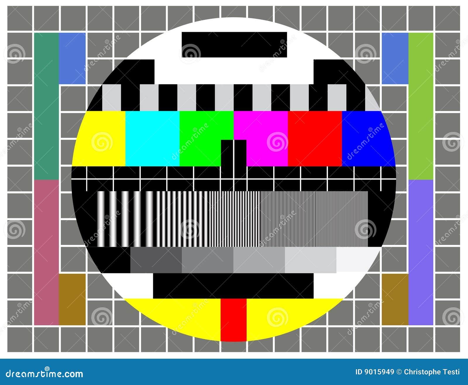 Parawanowy test tv