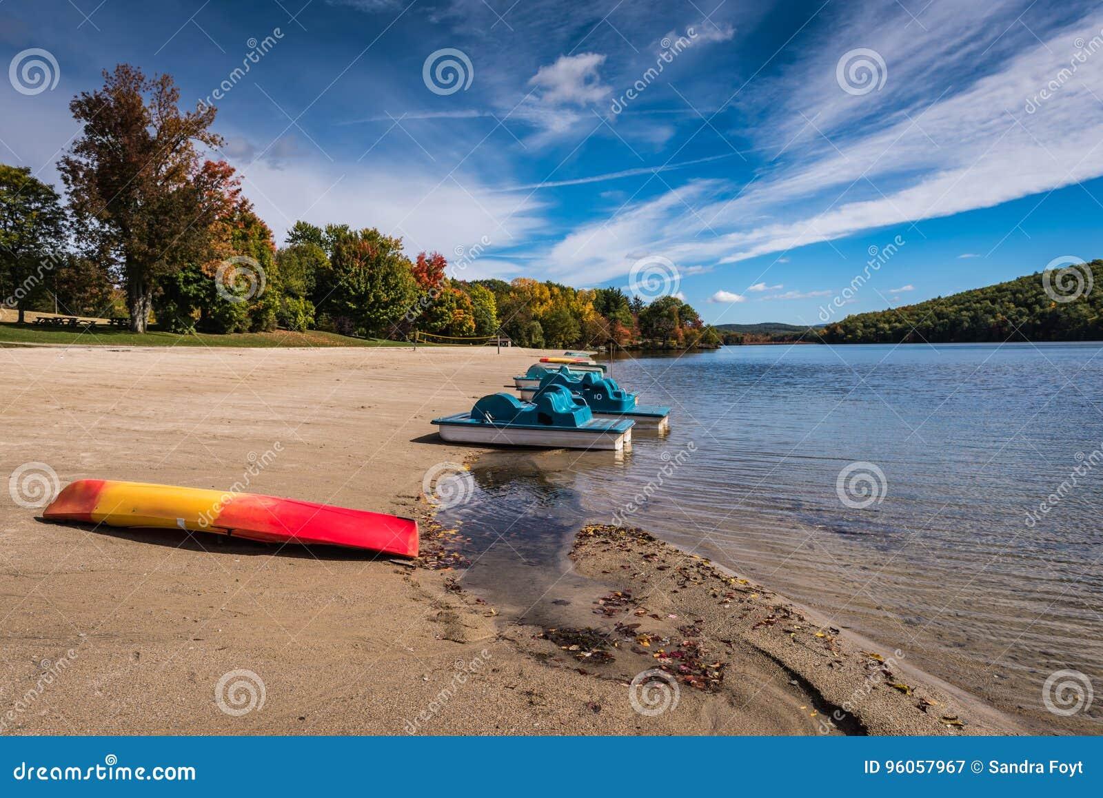 Parc d état de Taghkanic de lac - Ancram, NY