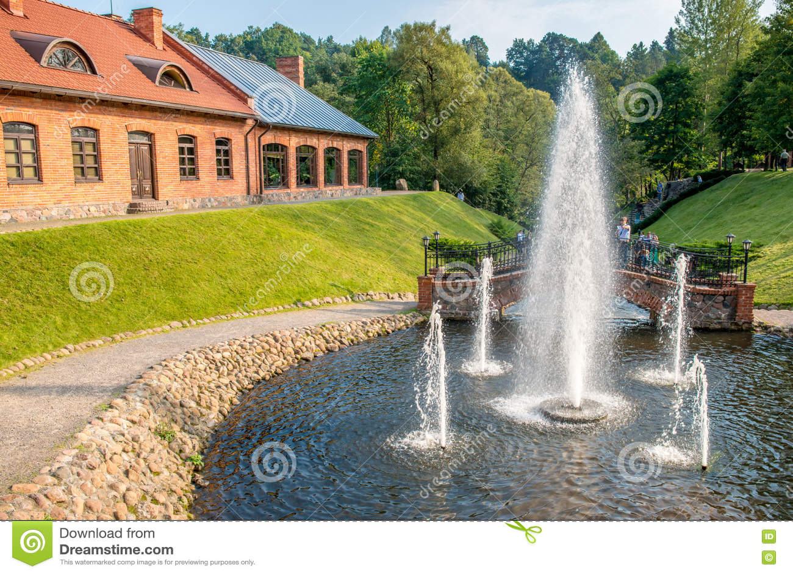 Parc de Belmontas à Vilnius
