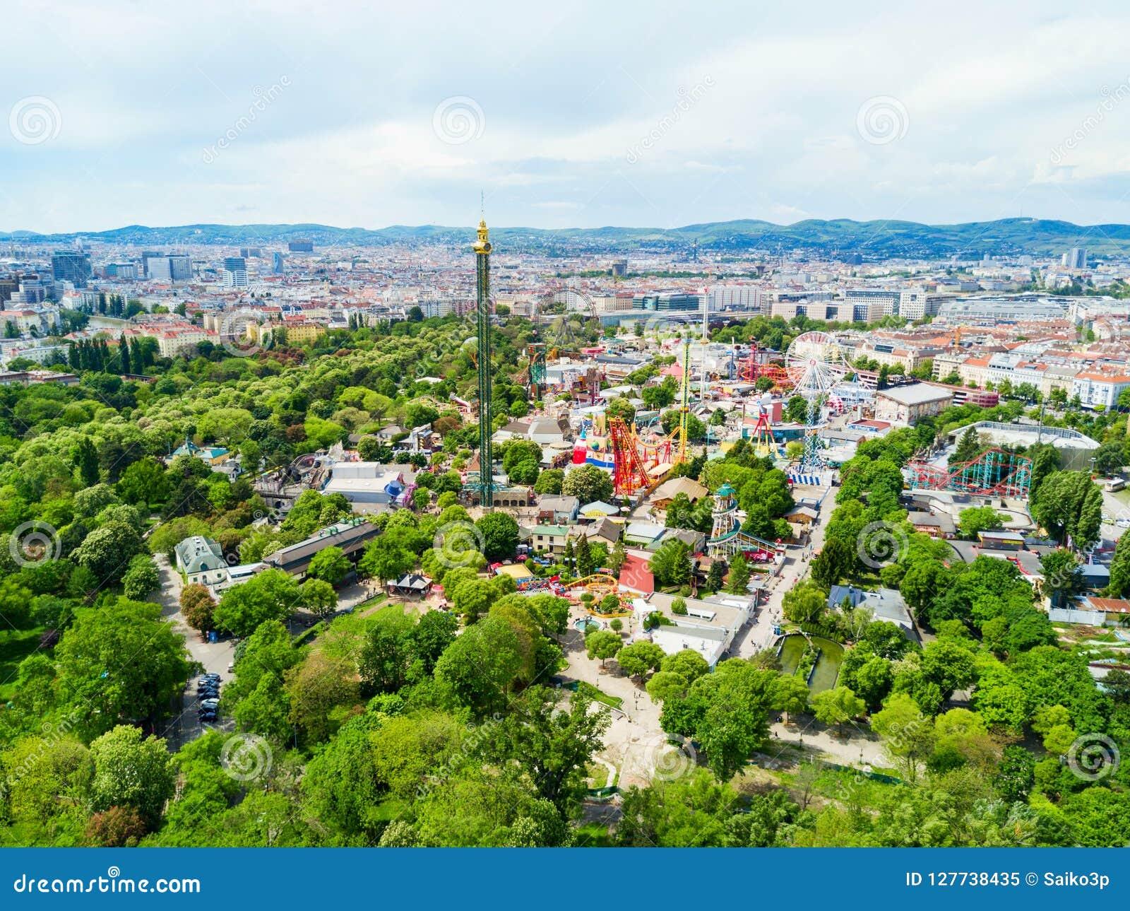 Parc de Prater à Vienne