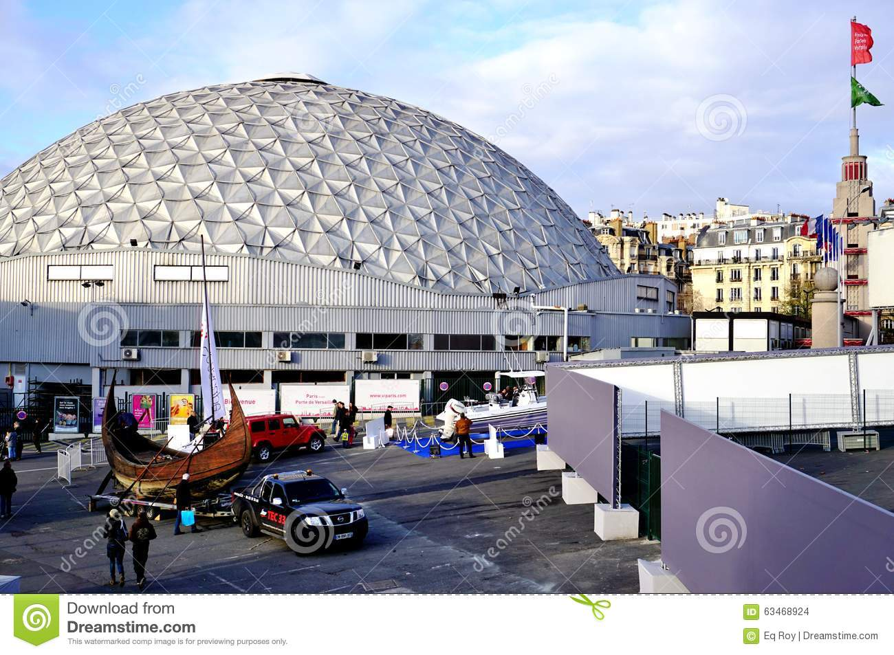 The parc des expositions de la porte de versailles paris for Salon porte de versailles hall 4
