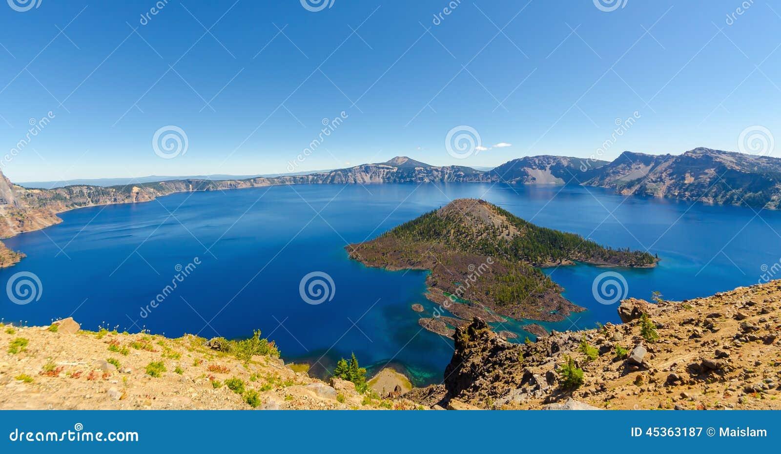 Parc national de lac crater