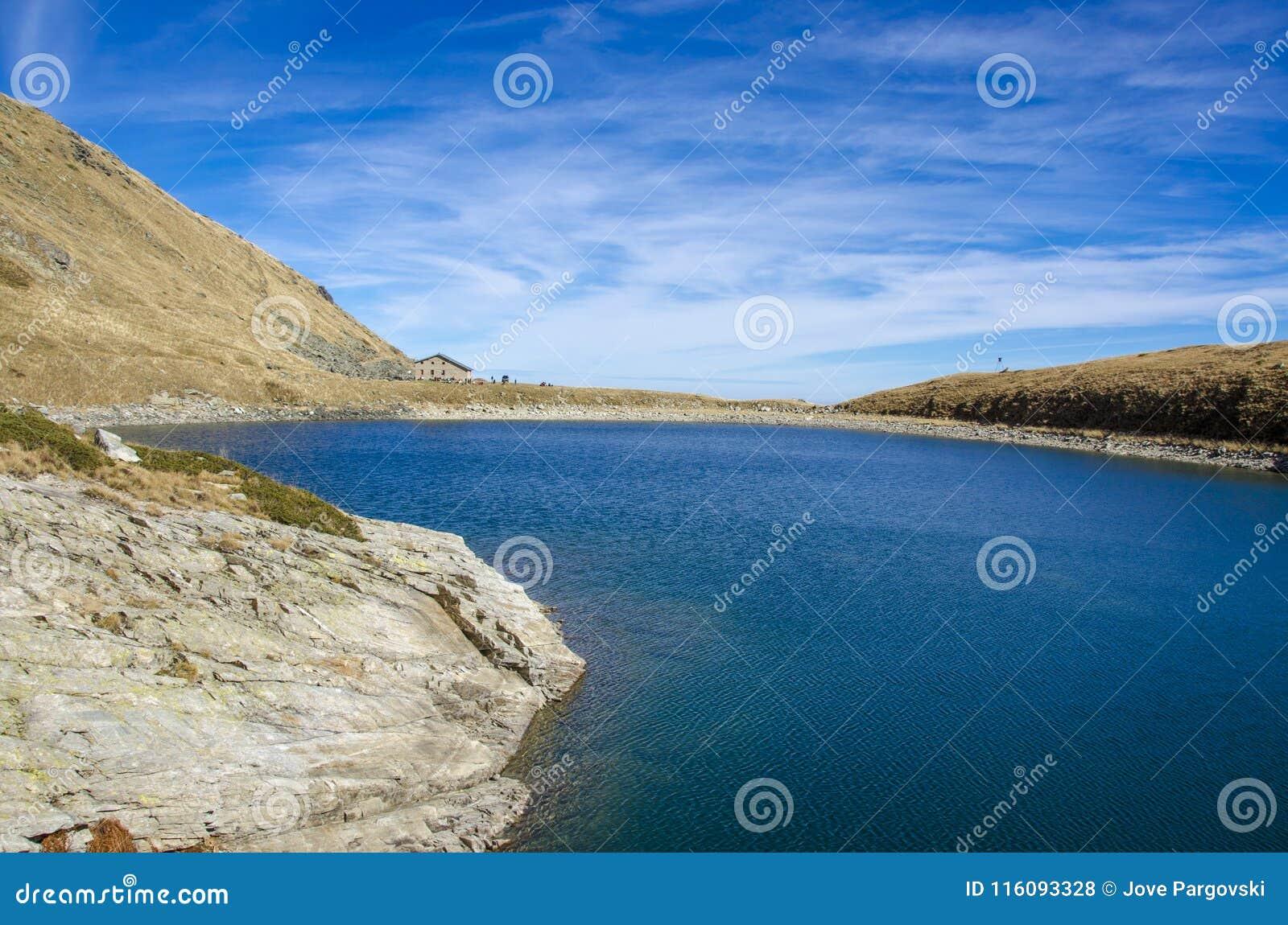 Parc national de Pelister près de Bitola, Macédoine - lac mountain - grand lac