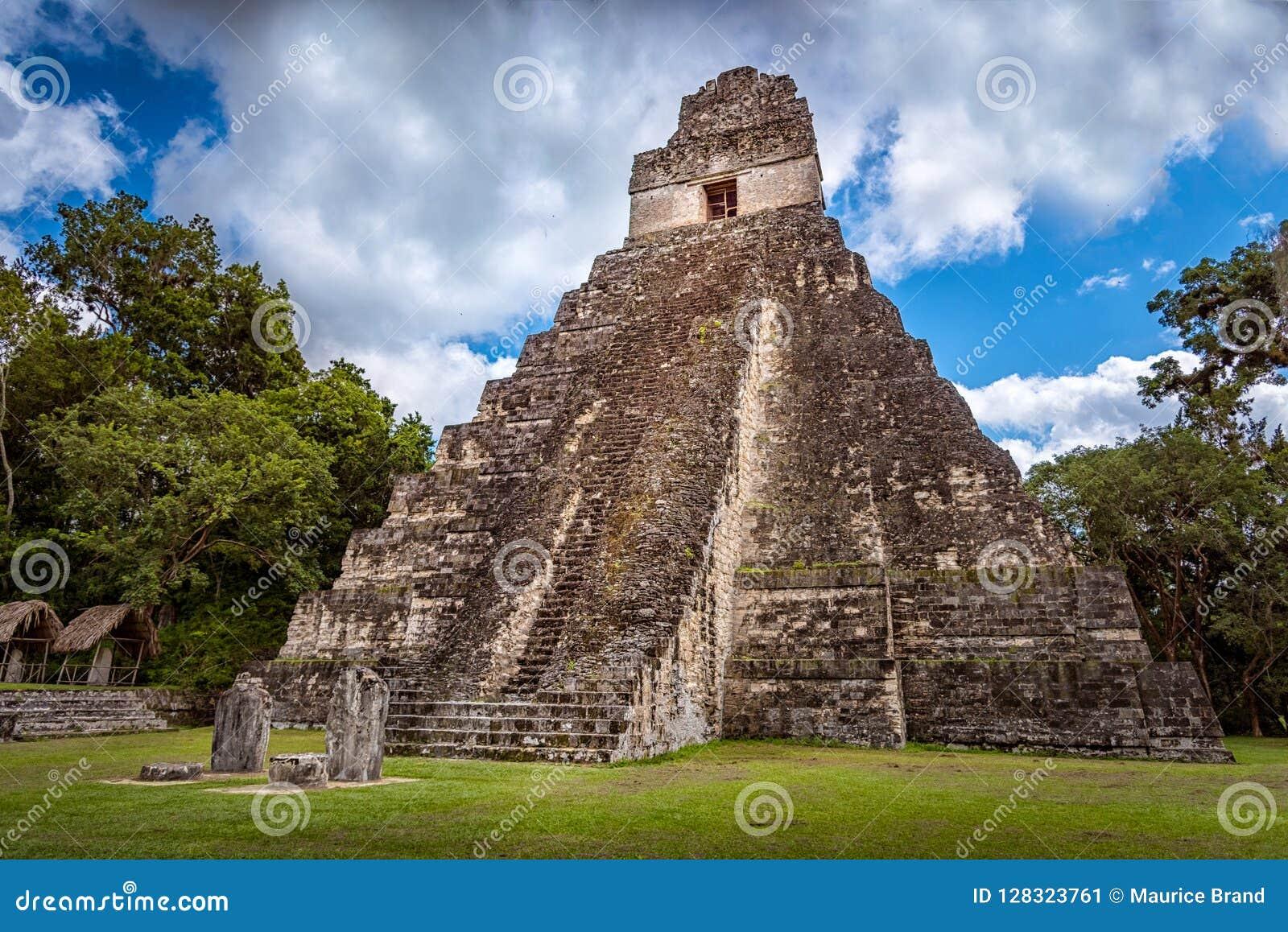 Parc national de Tikal près de Flores au Guatemala