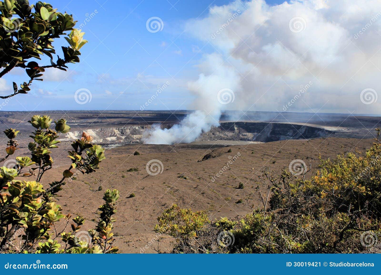 Volcan d Hawaï