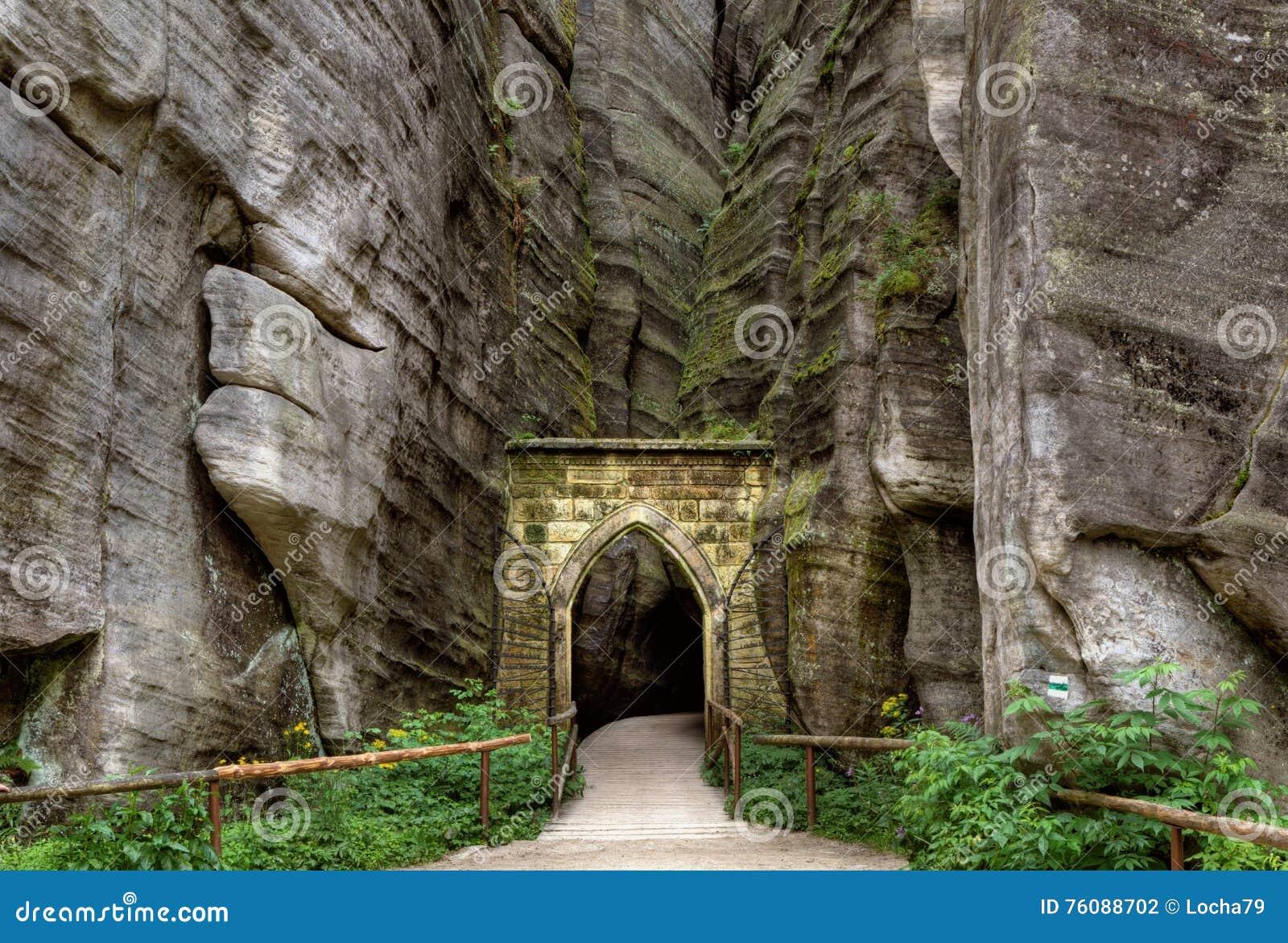 Parc national des roches d Adrspach-Teplice Ville de roche République Tchèque