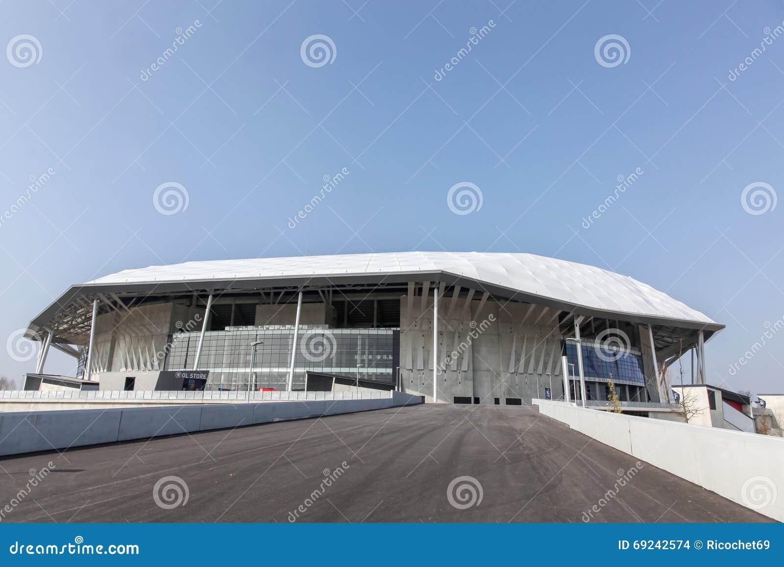 The parc olympique stadium in lyon france editorial stock for Club de natation piscine parc olympique
