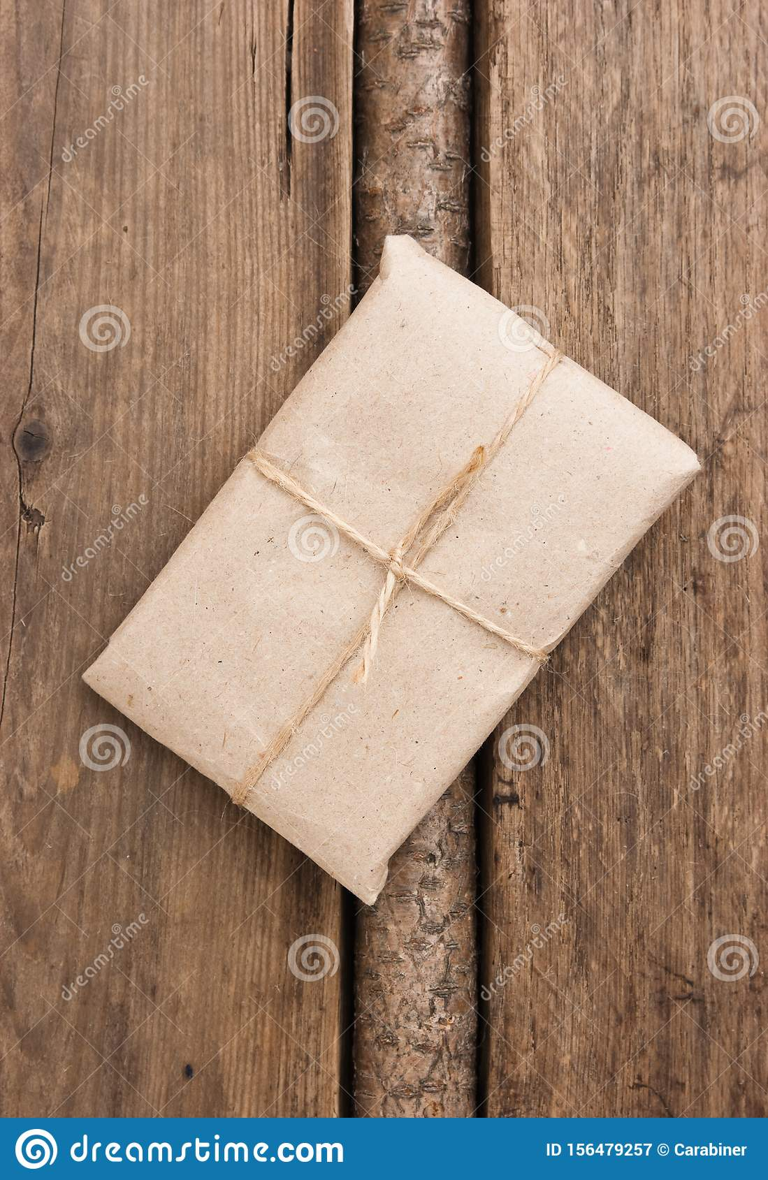 parcel wrapped