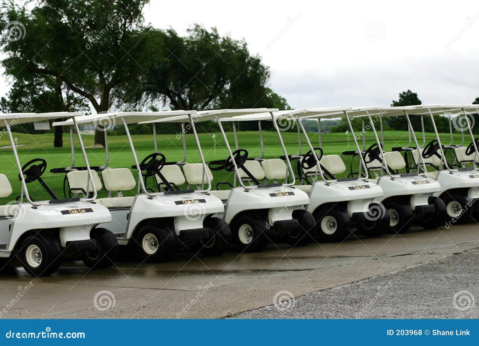 Parcheggio del carrello di golf