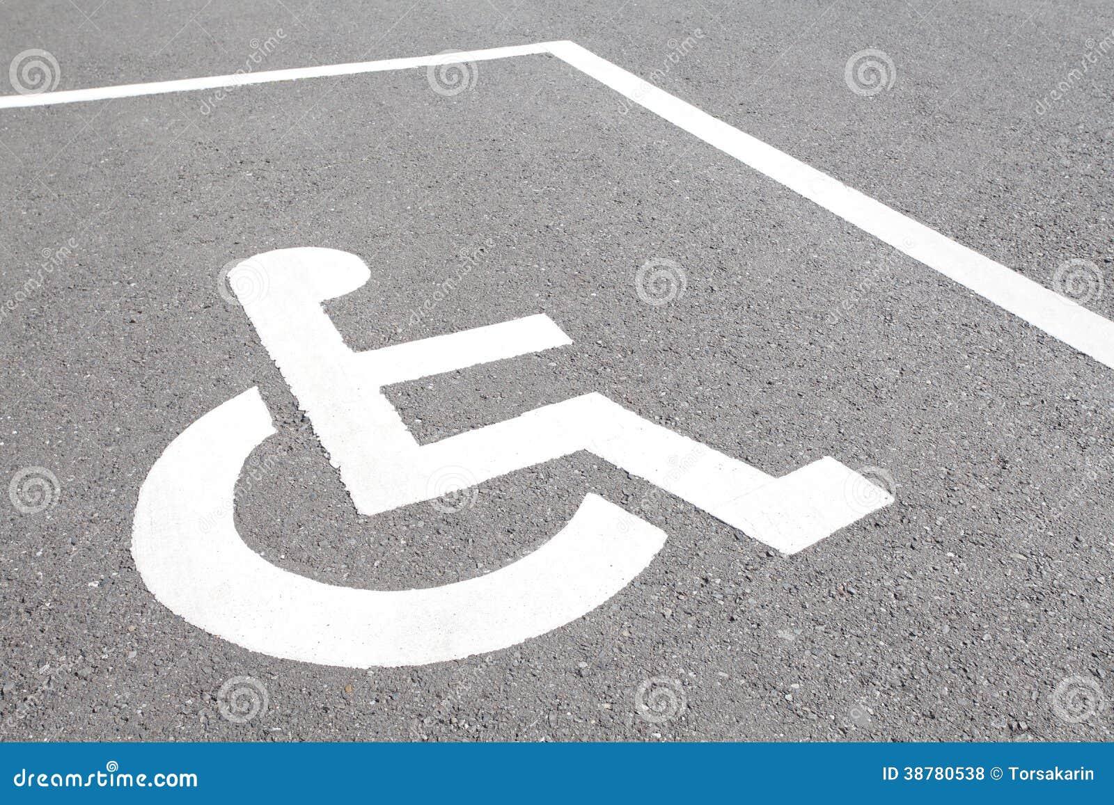 Parcheggio di handicap