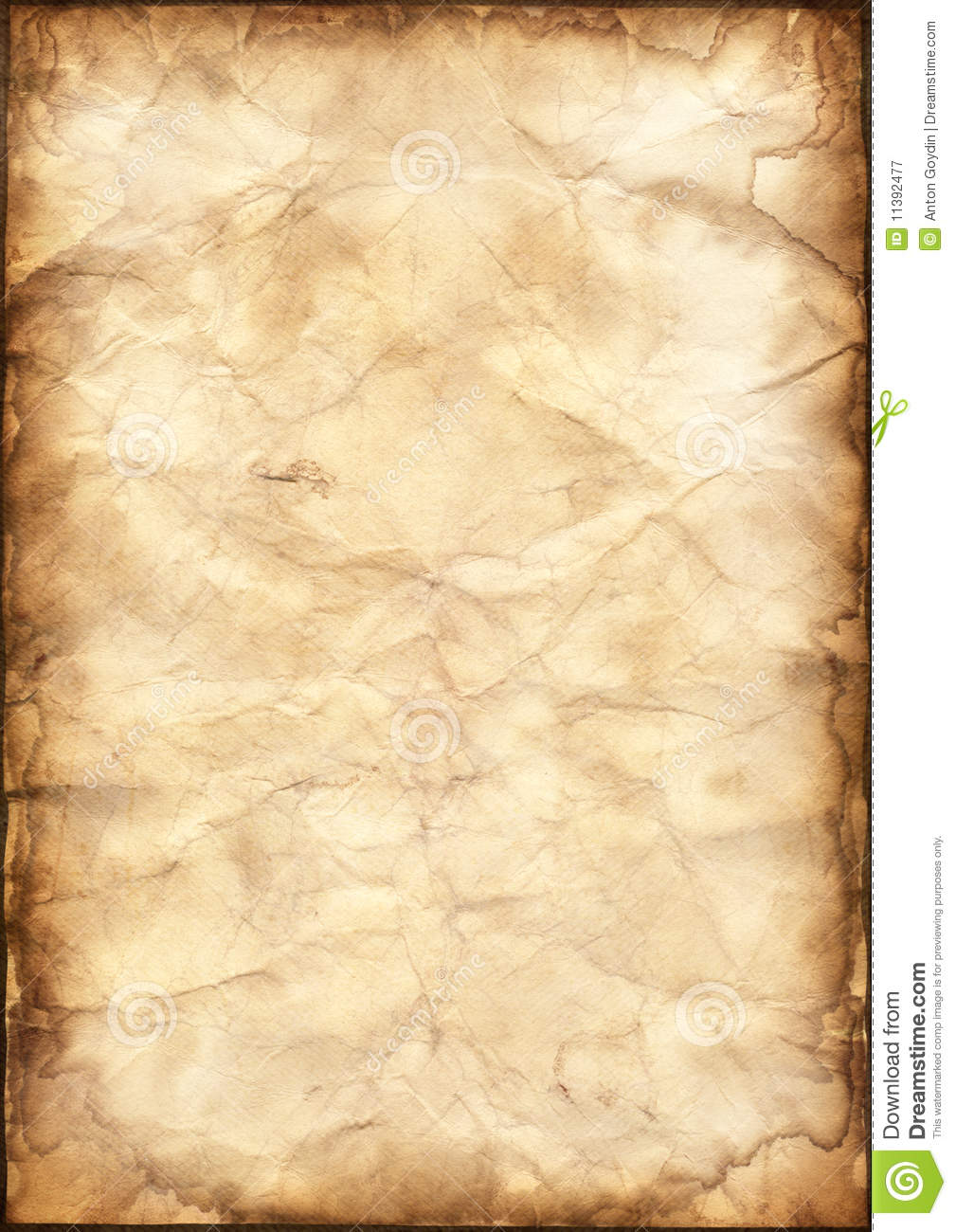 Parchment Paper Background Illustration 11392477