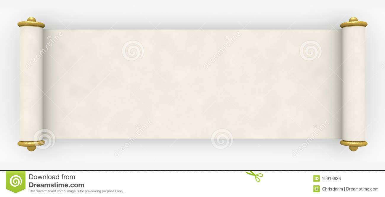 Parchment Scroll Royalty Free Stock Image - Image: 19916686