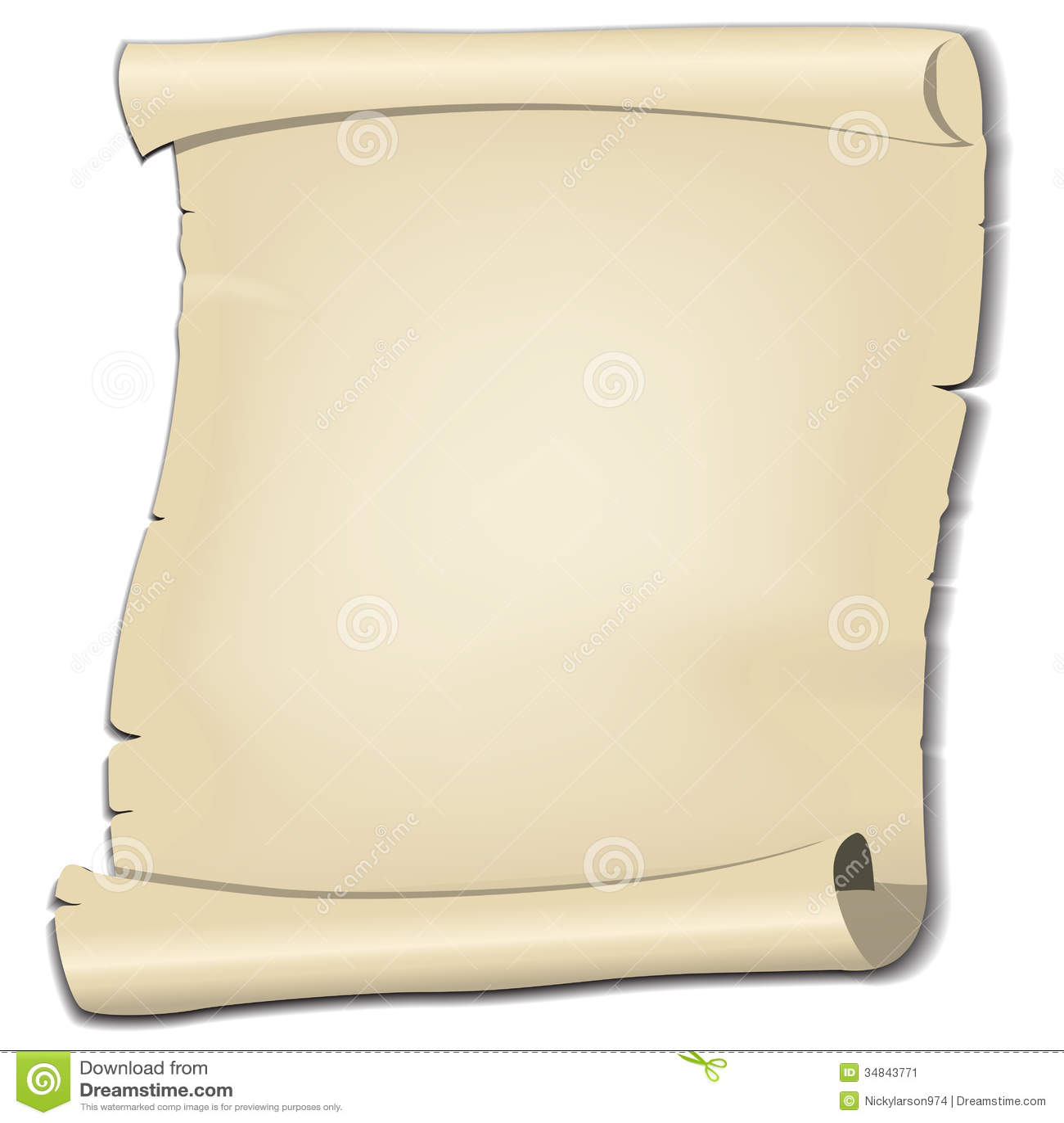 Parchment Stock Image - Image: 34843771