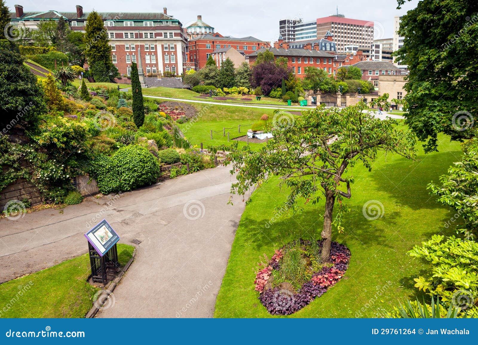 Parco della molla a Nottingham