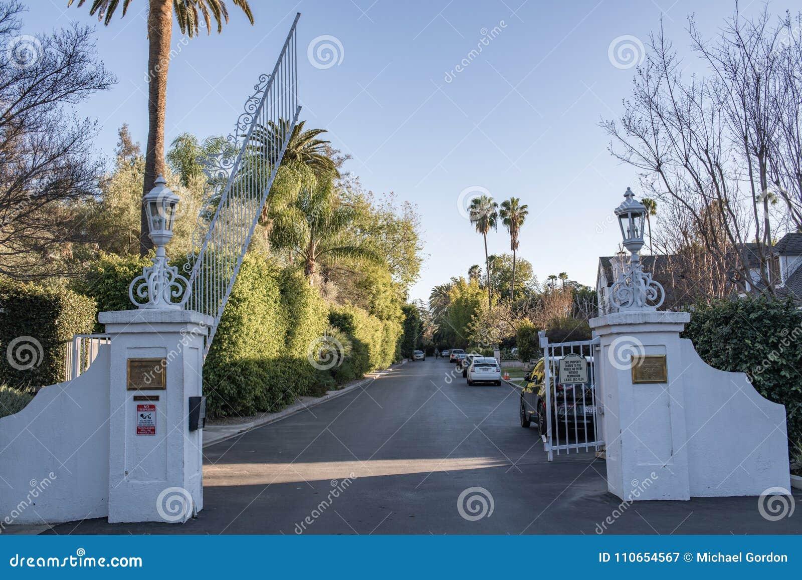 Parco di Laughlin, una comunità privata e gated a Los Angeles