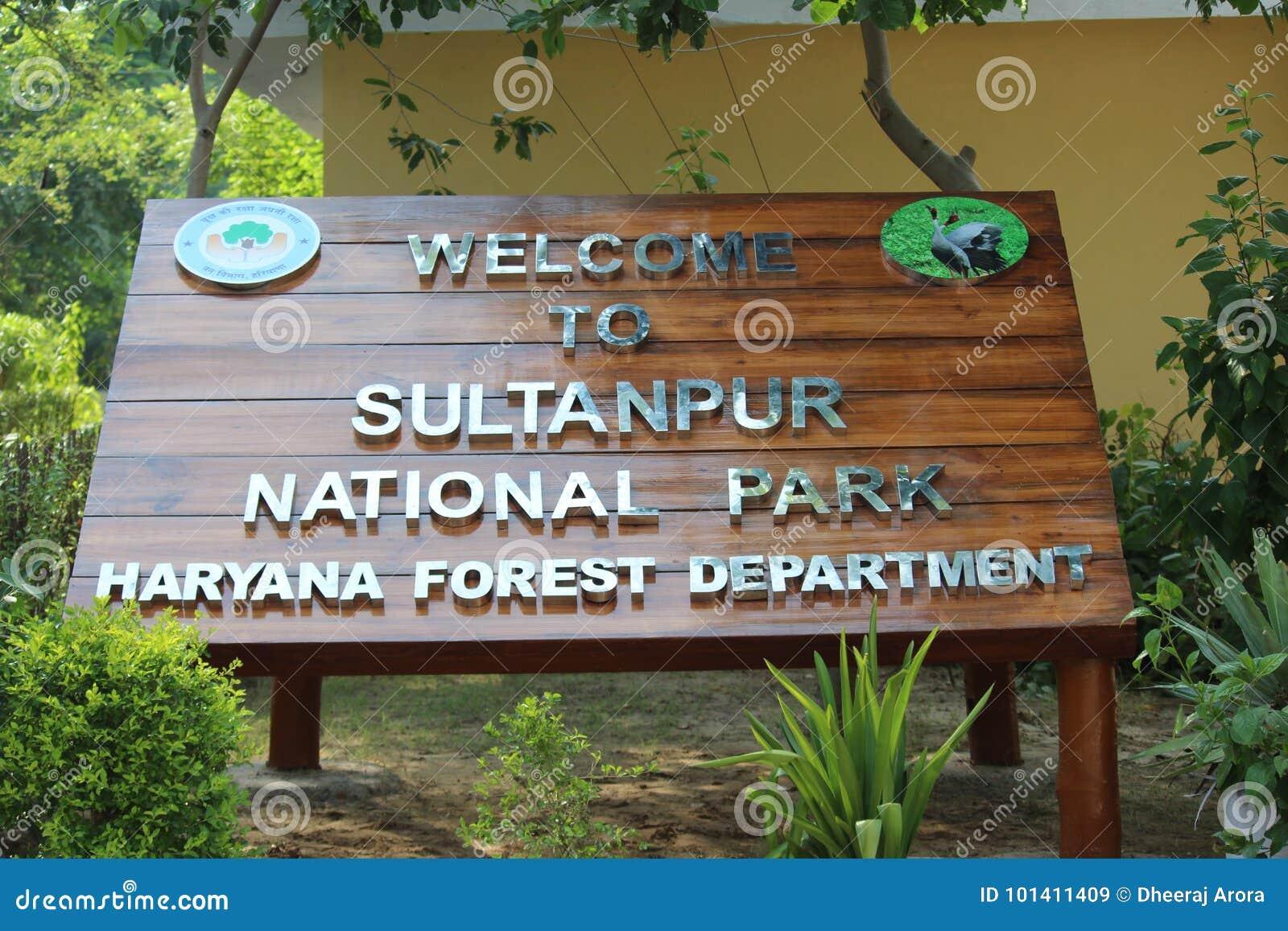 Parco nazionale di Sultanpur
