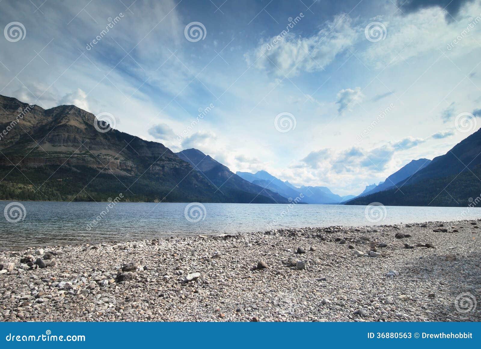 Download Parco Nazionale Di Waterton Nel Canada Immagine Stock - Immagine di campeggio, naturalizzato: 36880563
