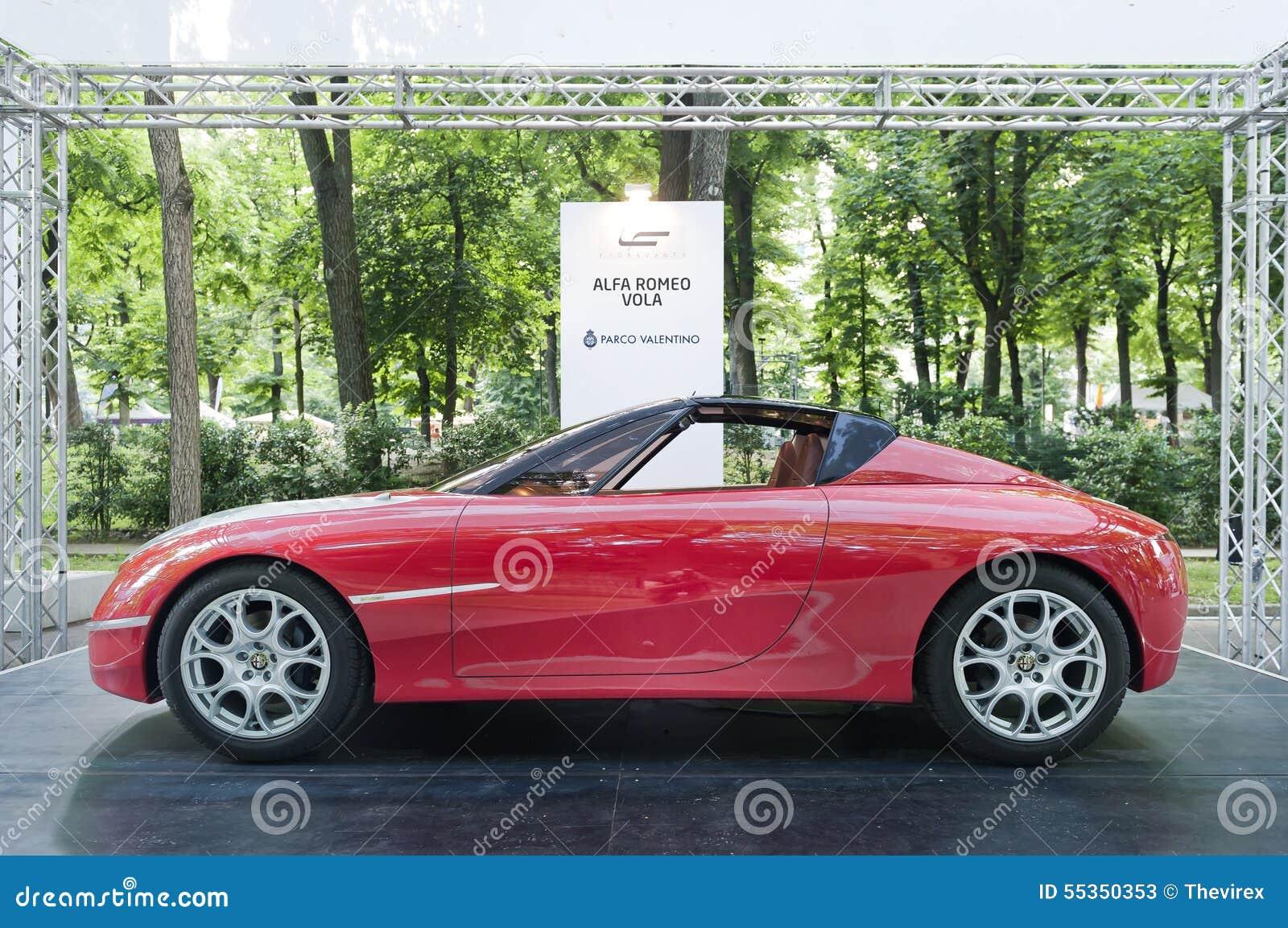 Parco Valentino - Salone & Gran Premio - Car Show dell aria aperta a Torino