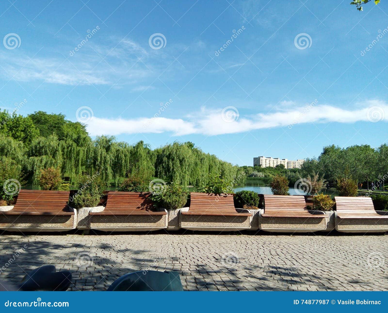 Parcul Alexandru Ioan Cuza, Bucuresti, Rumänien