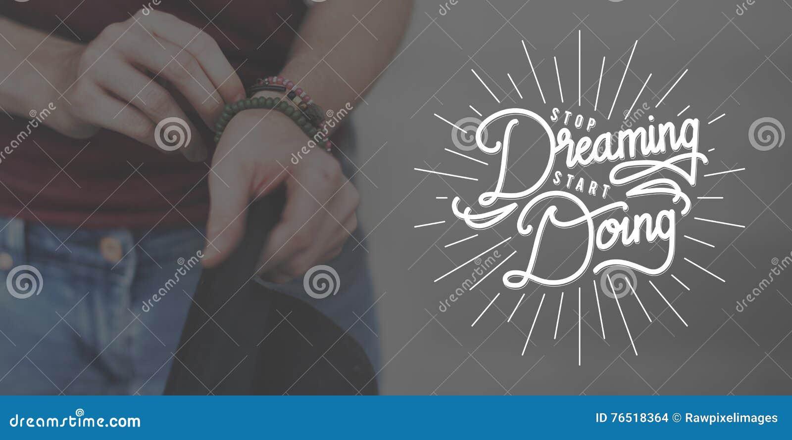 Pare de sonhar o começo que faz o conceito Startup do começo