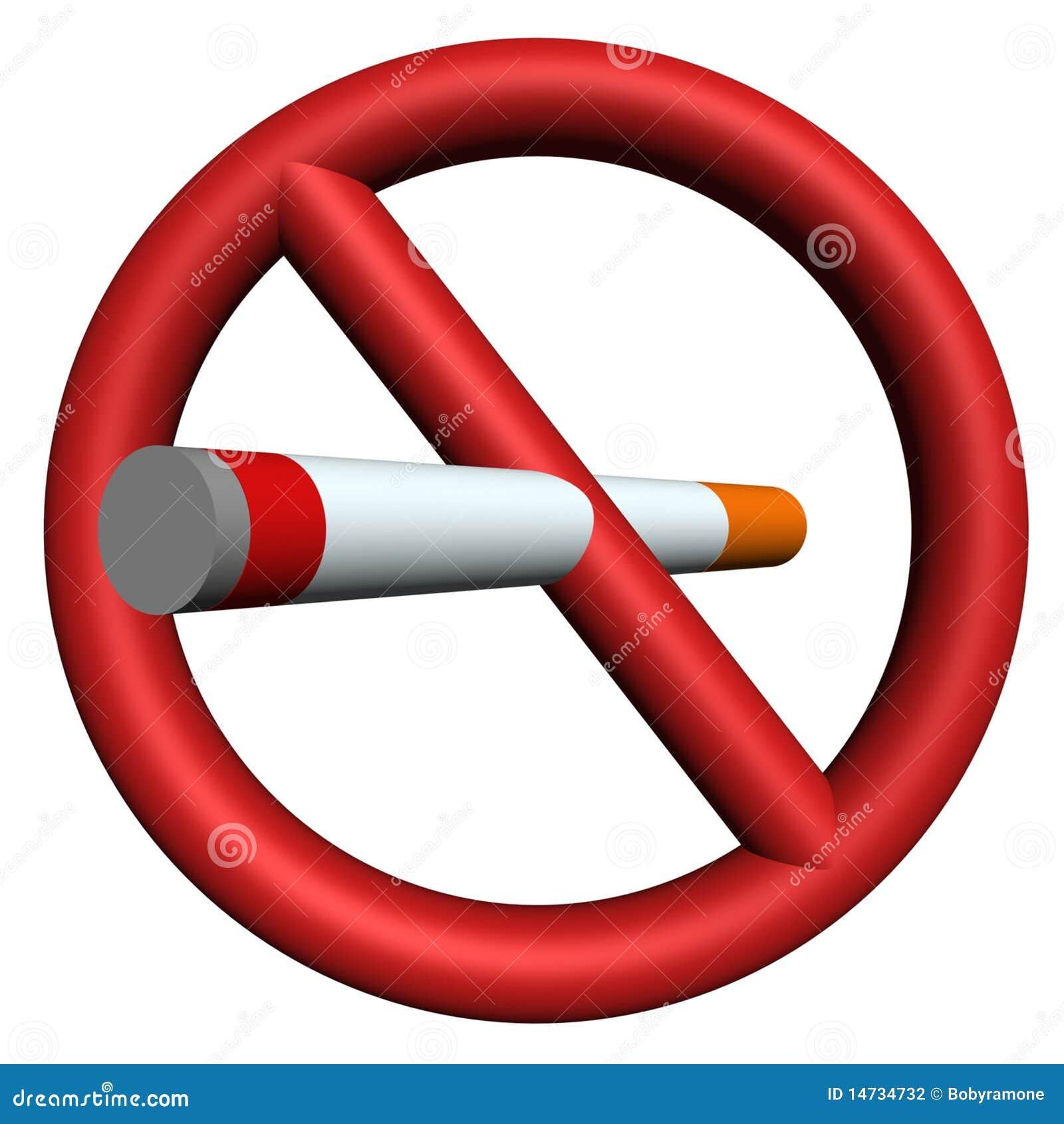 de fumar muestra