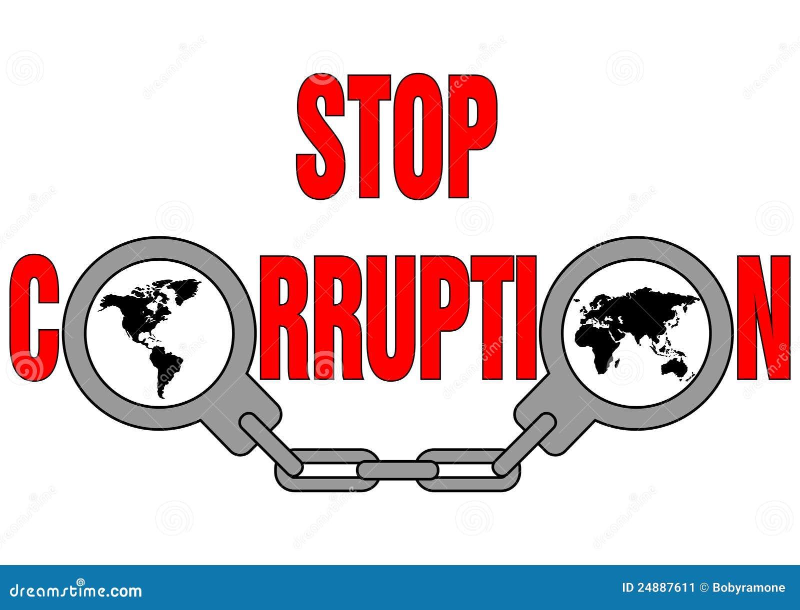 Pare la corrupción