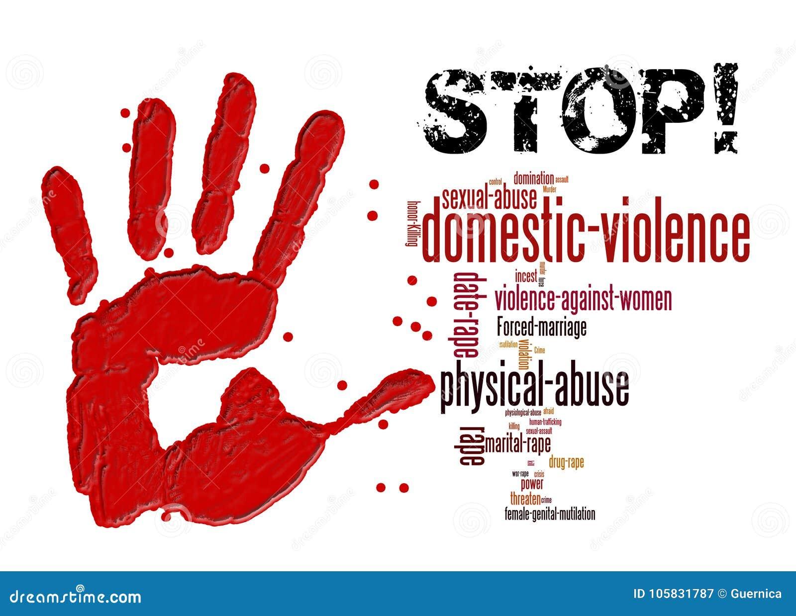 Pare a violência doméstica contra mulheres e meninas